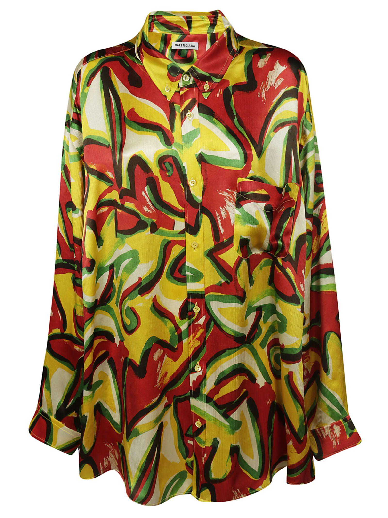 Balenciaga Printed Shirt