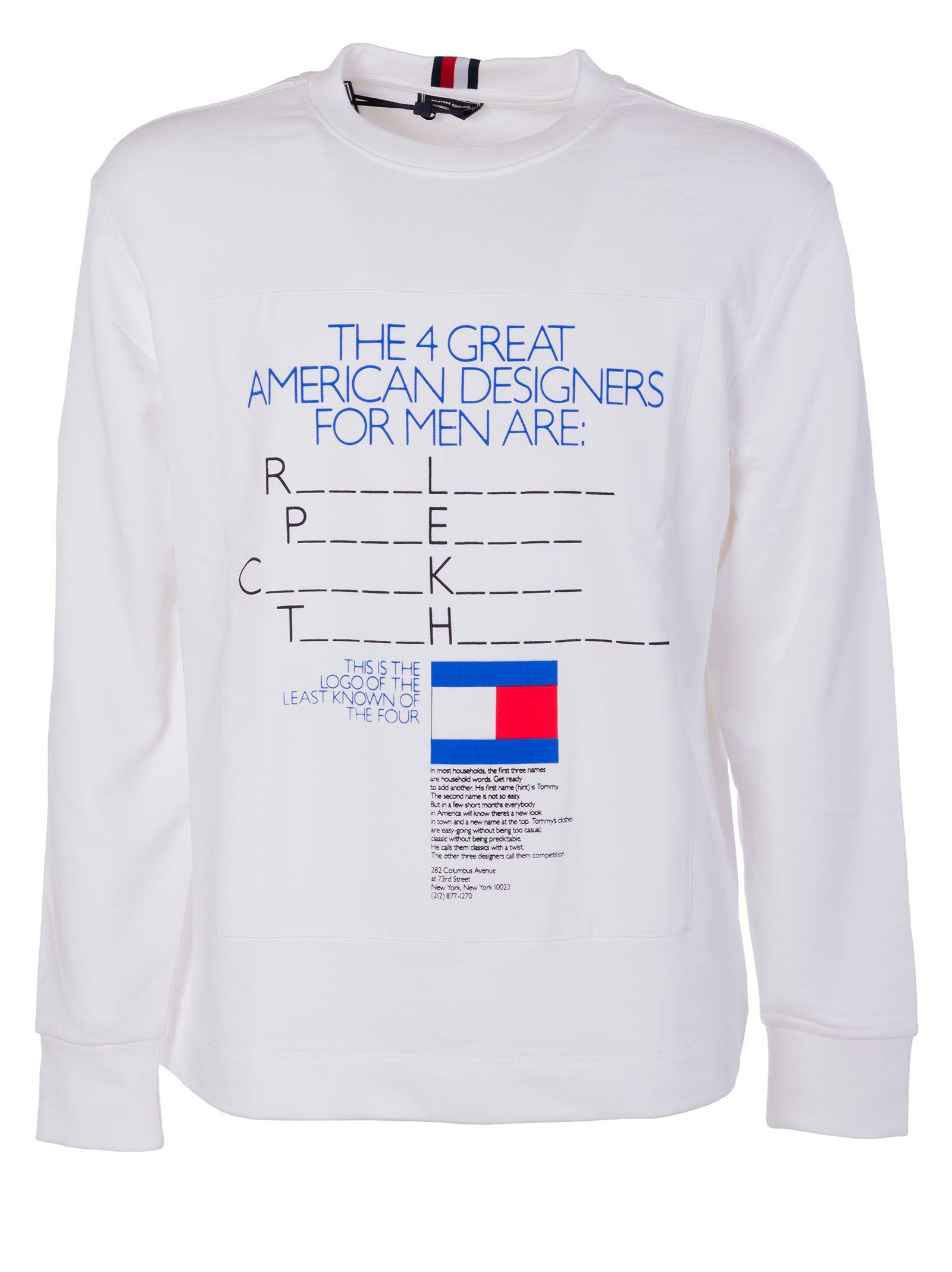 Tommy Hilfiger Ad Campaign Sweatshirt