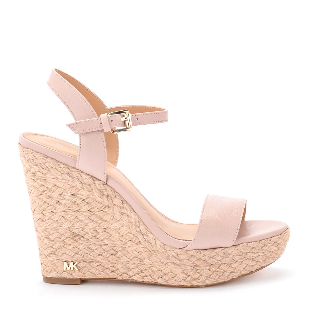 Michael Kors Jill Pale Pink Wedge Sandal