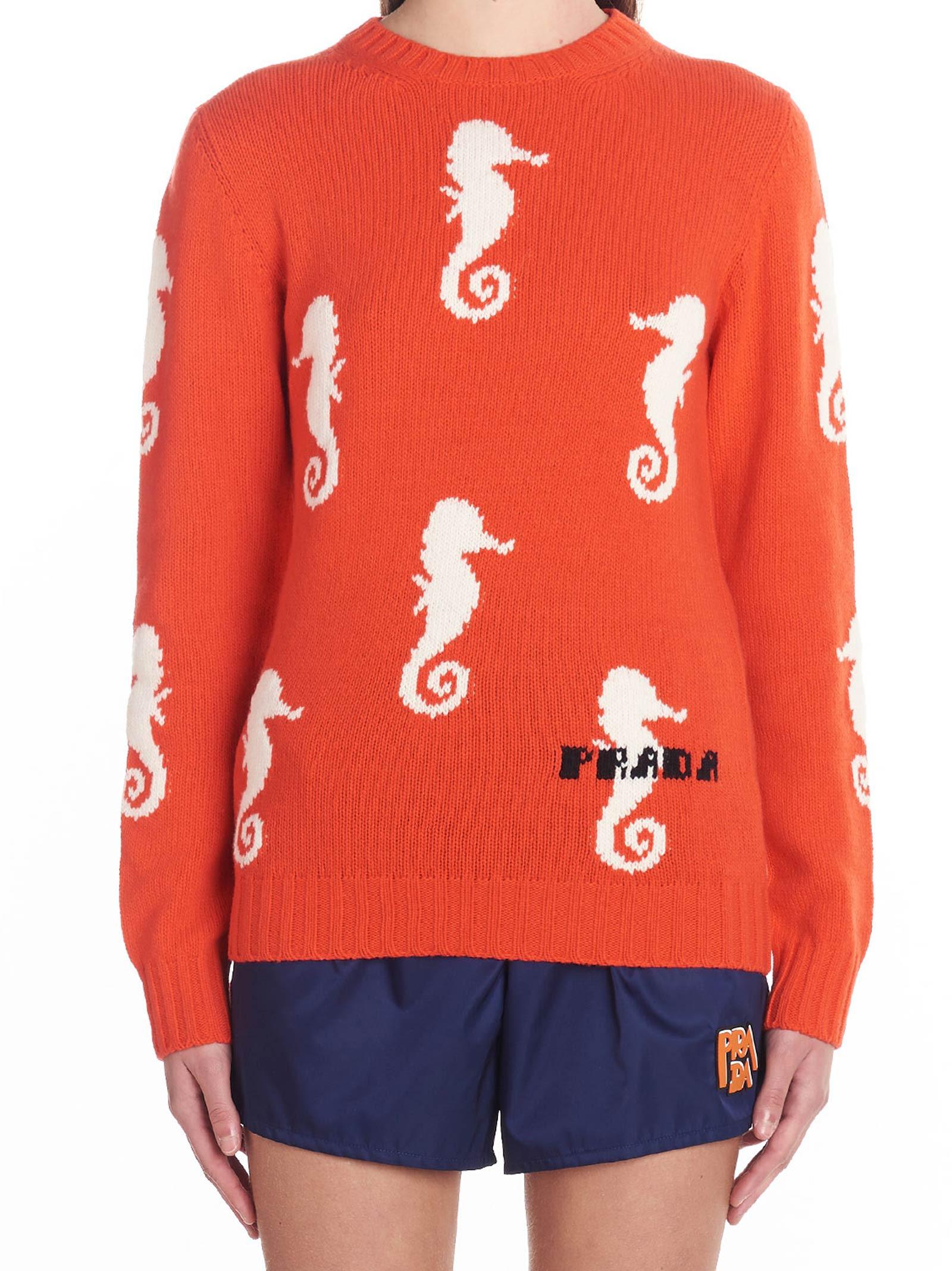 Prada 'cavalluccio' Sweater
