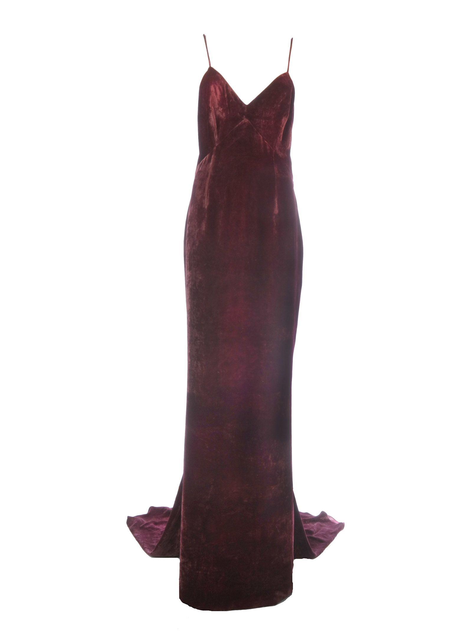 Stella Mccartney V-neck Long Dress