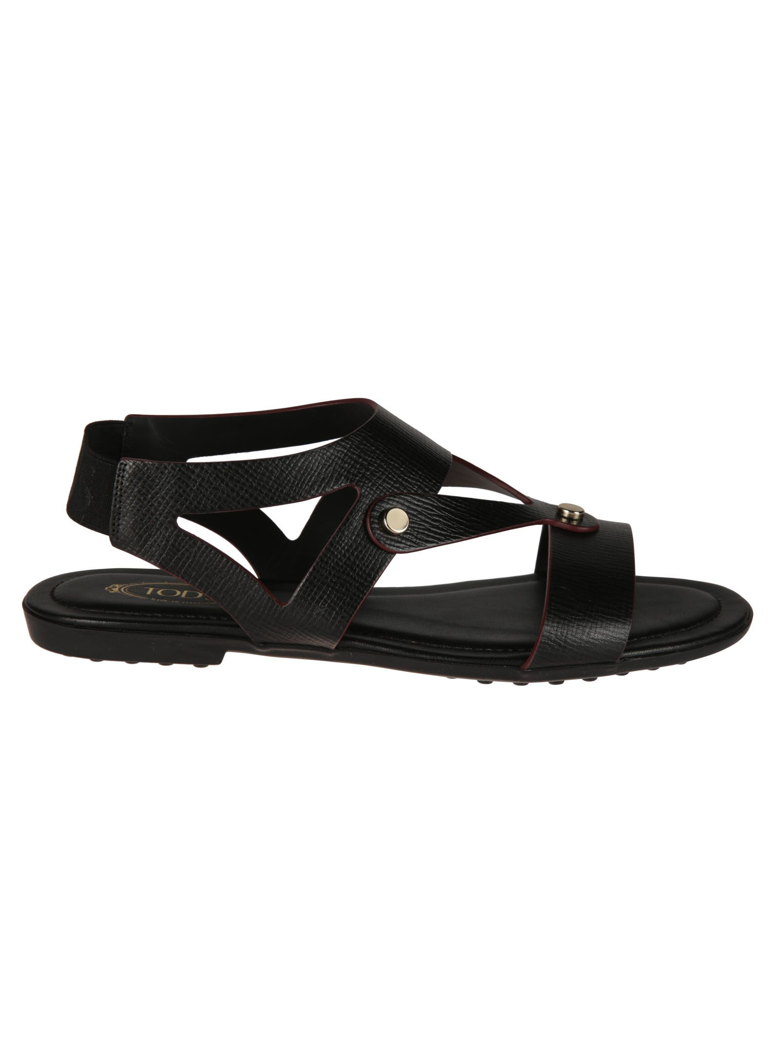 Tod's Strappy Flat Sandals