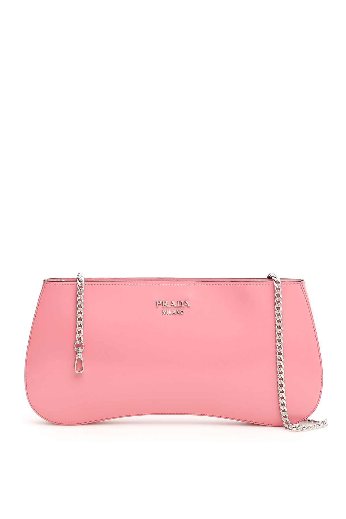 Prada Brushed Calfskin Clutch