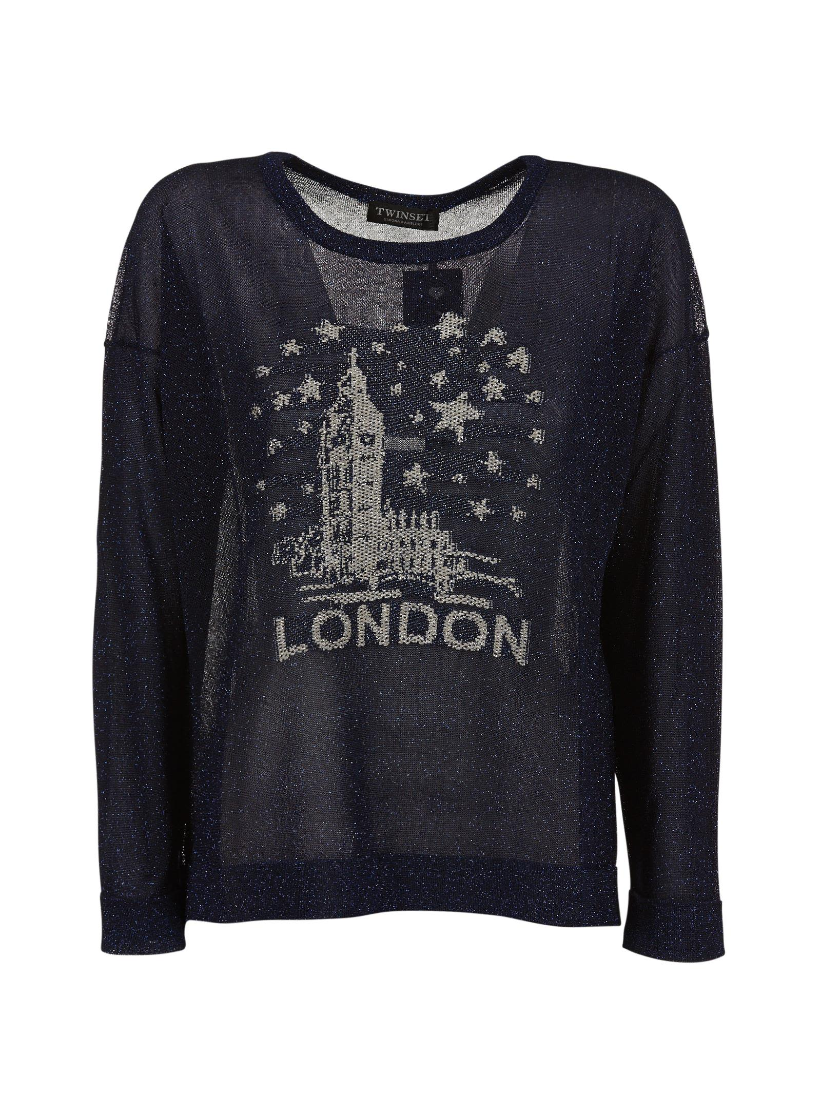 Twinset London Embroidered Sweater