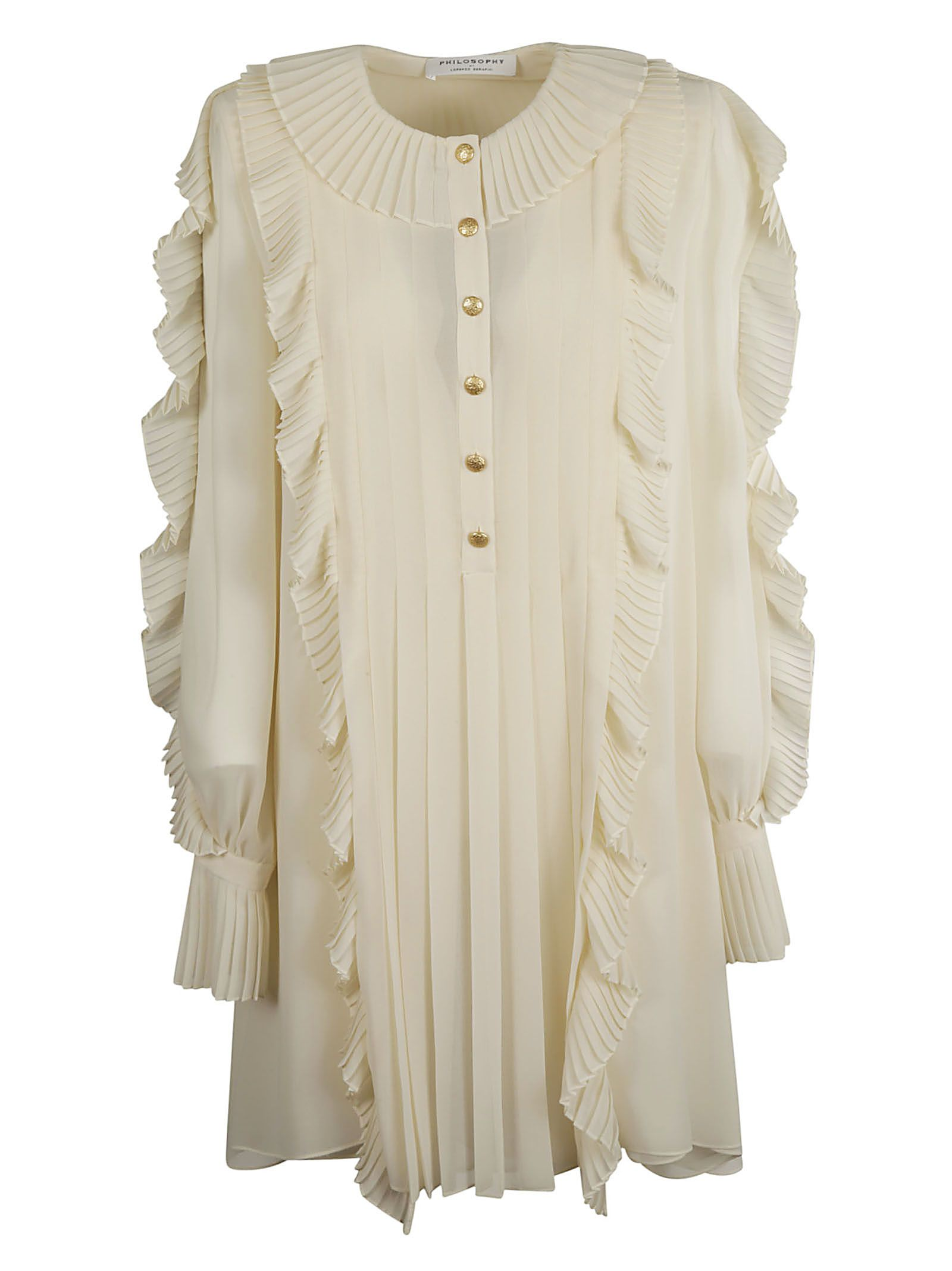 Philosophy Di Lorenzo Serafini Ruffled Dress