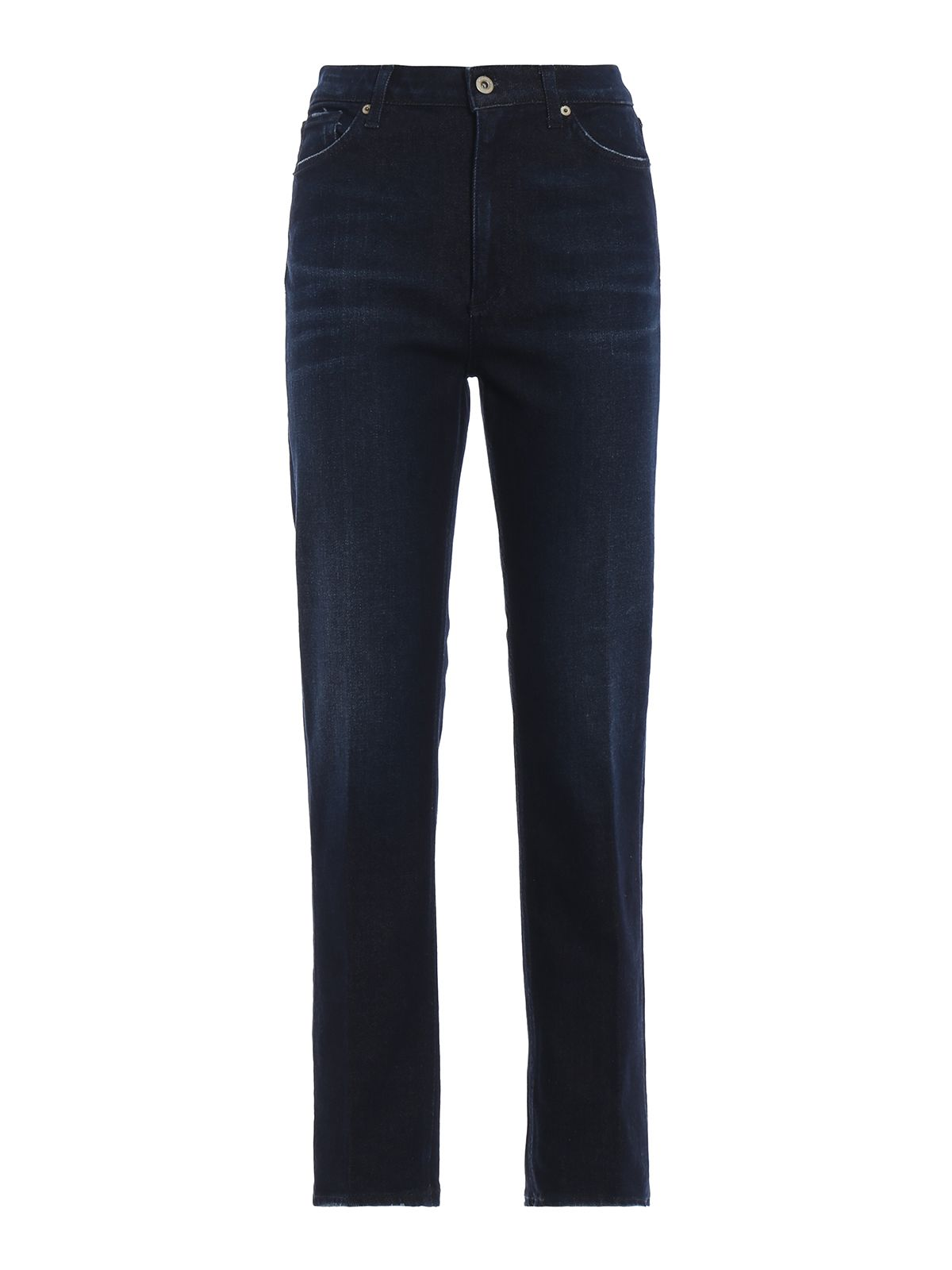 Dondup Dez Straight Ankle Fit Jeans