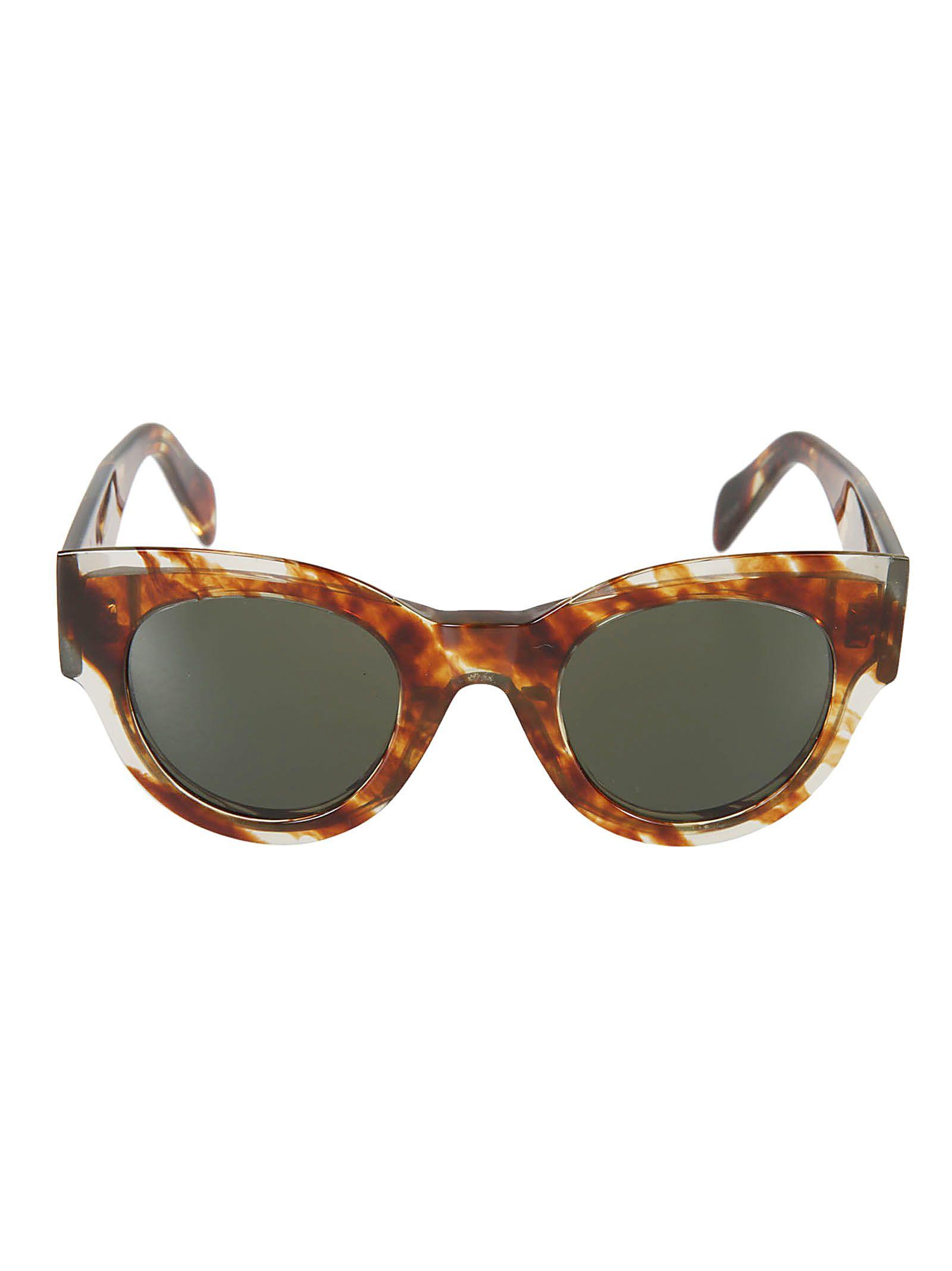 celine - Céline Round Framed Sunglasses
