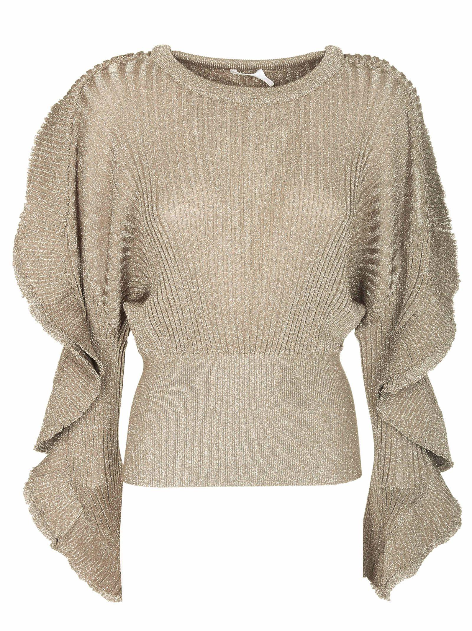 Chloé Ribbed Knit Sweater