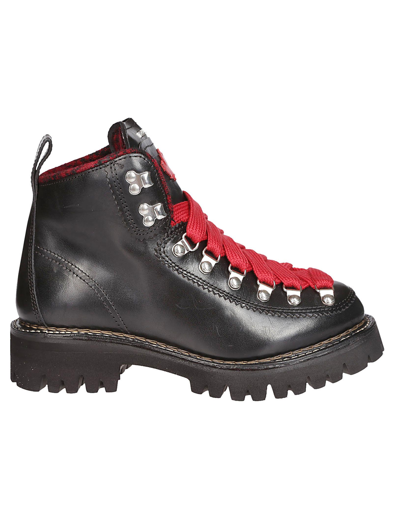 dsquared2 -  Contrast Hiking Boots