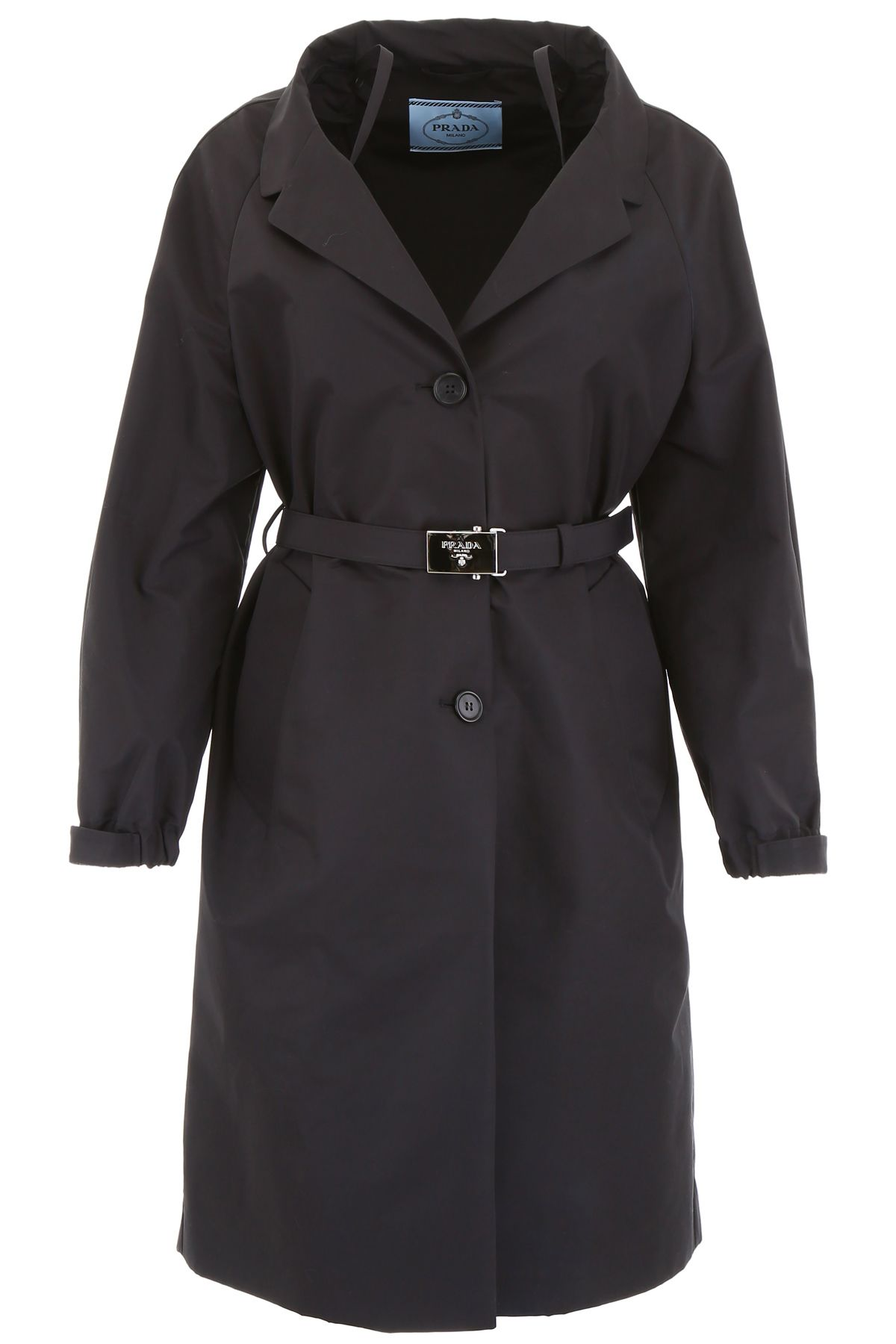 Prada Techno Cotton Raincoat