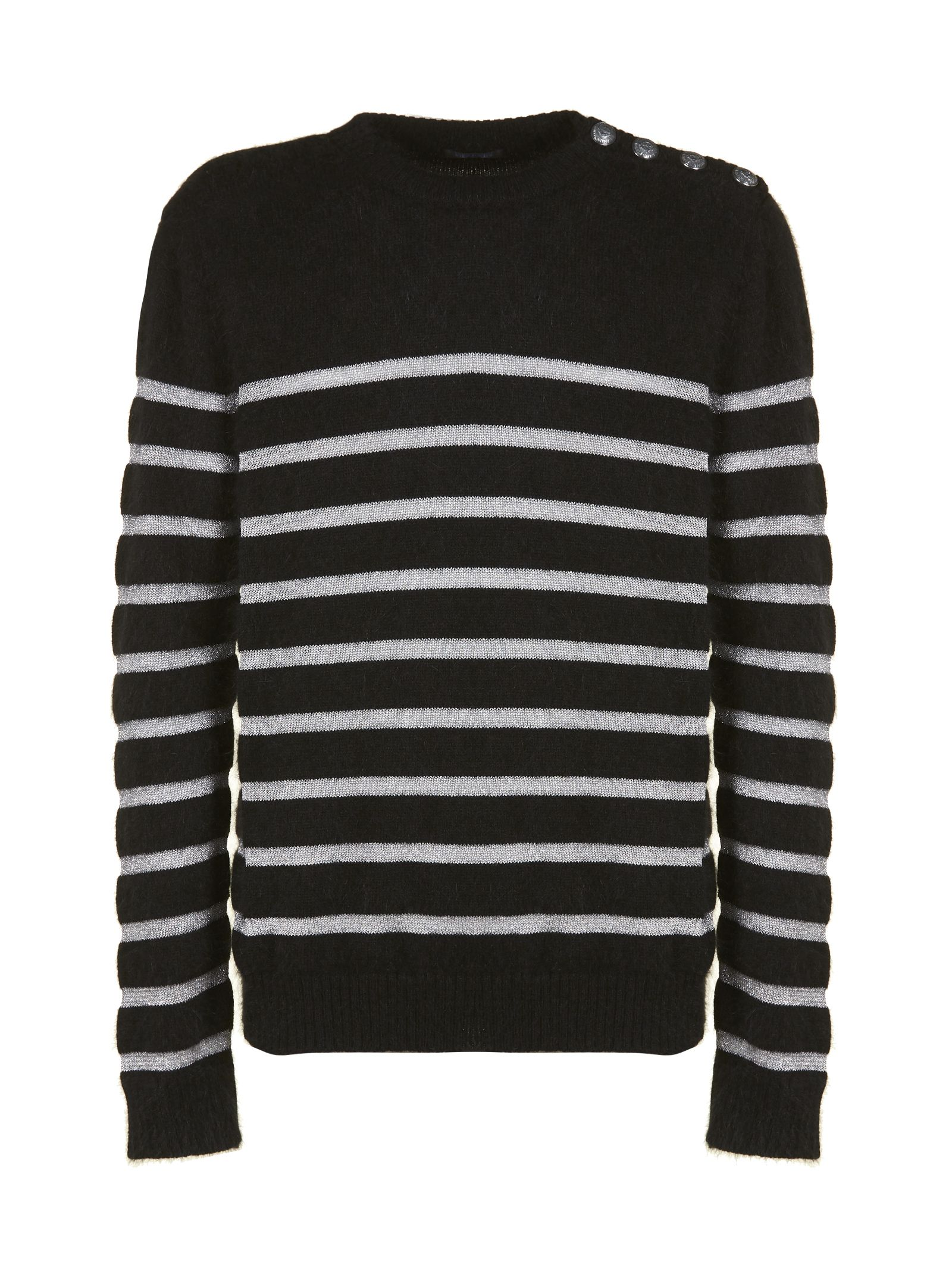 Balmain Stripe Knit Sweater
