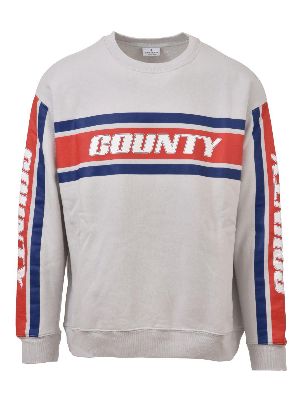 Marcelo Burlon Grey Crewneck Sweatshirt