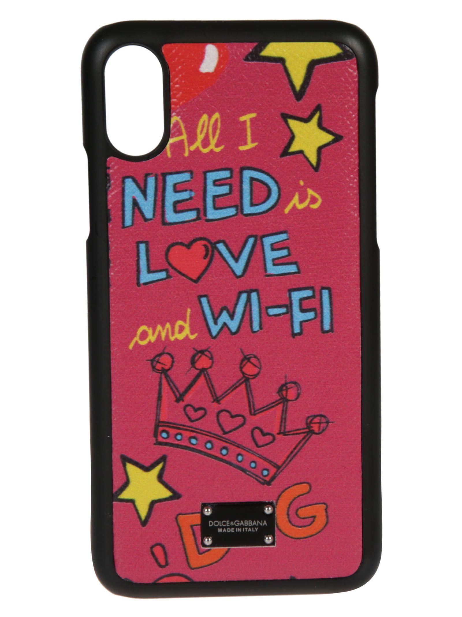 Dolce & Gabbana Printed Iphone X Case