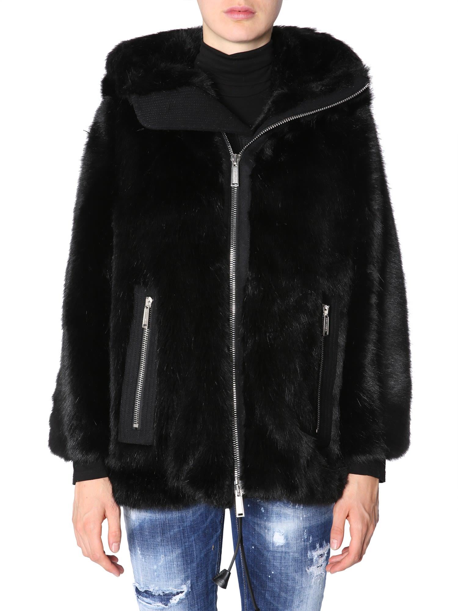 Dsquared2 Eco-fur Jacket
