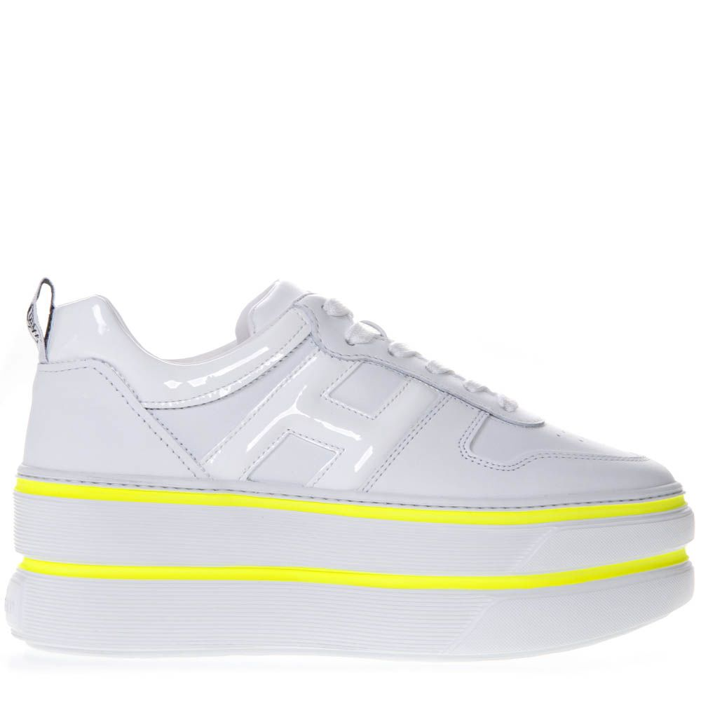 Hogan H449 White Leather Sneaker