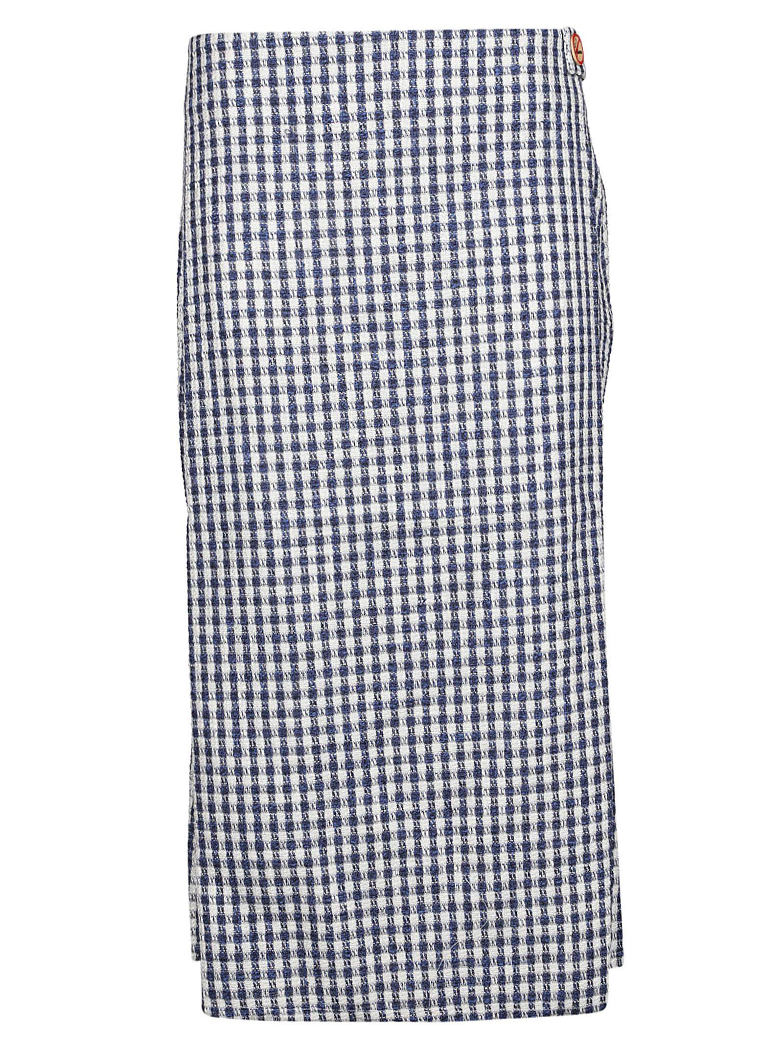 Simon Miller Skirts PLAID PATTERN SKIRT