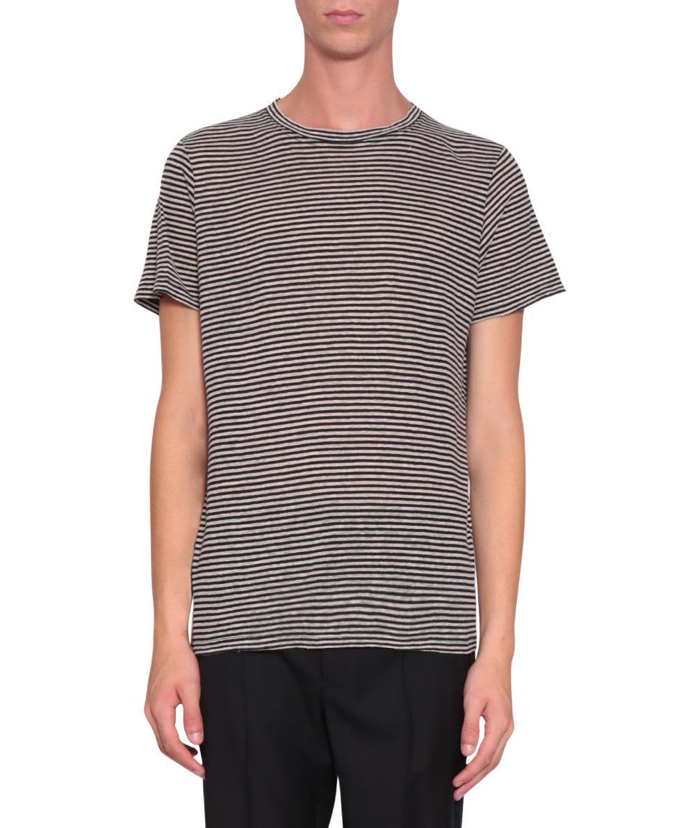 Isabel Marant Striped Linen Leon T-shirt