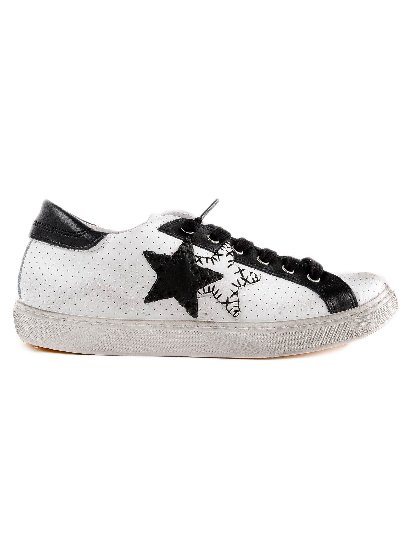 2 Star Two Star Patch Sneakers