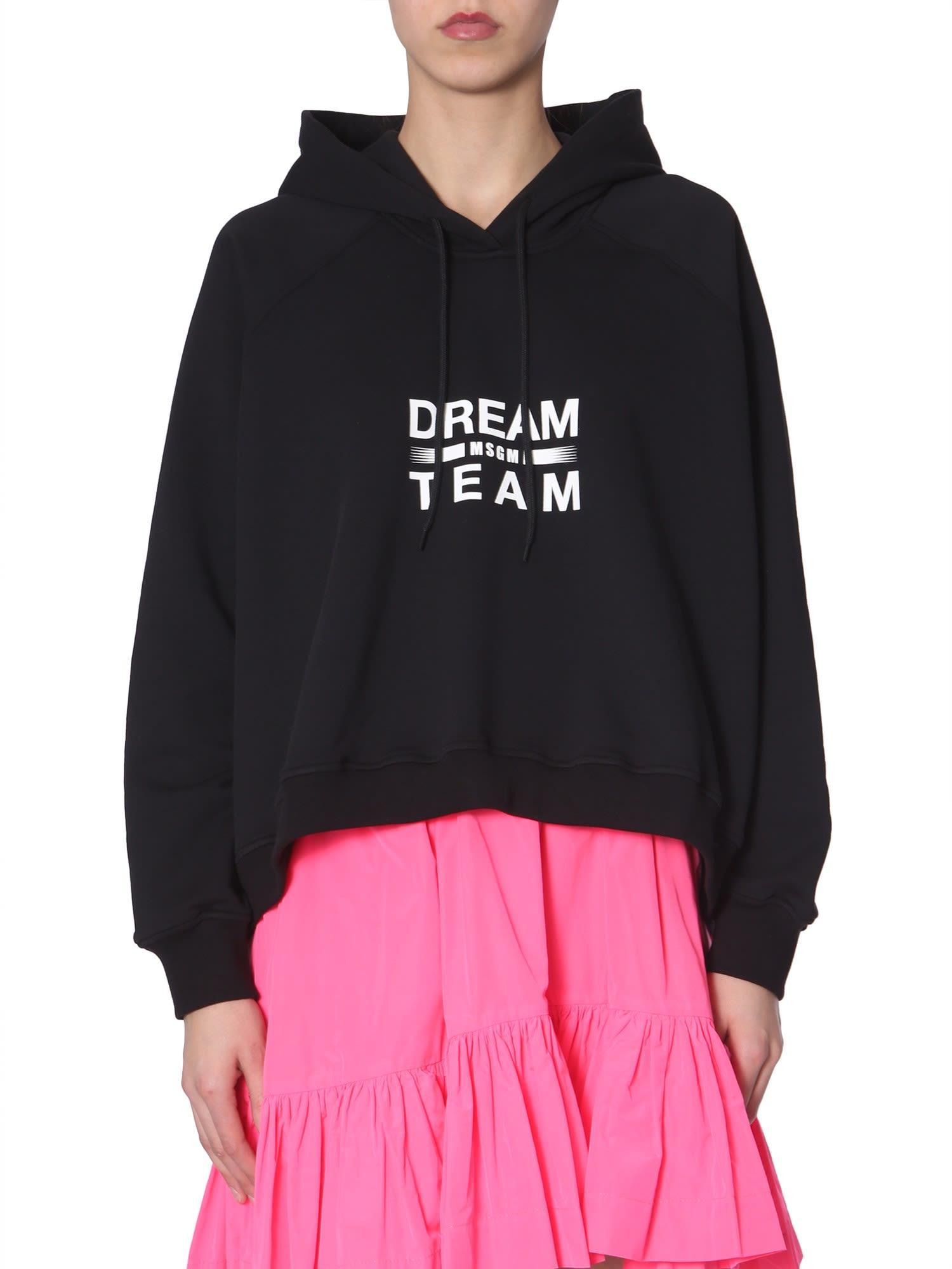 MSGM Dream Team Printed Sweatshirt