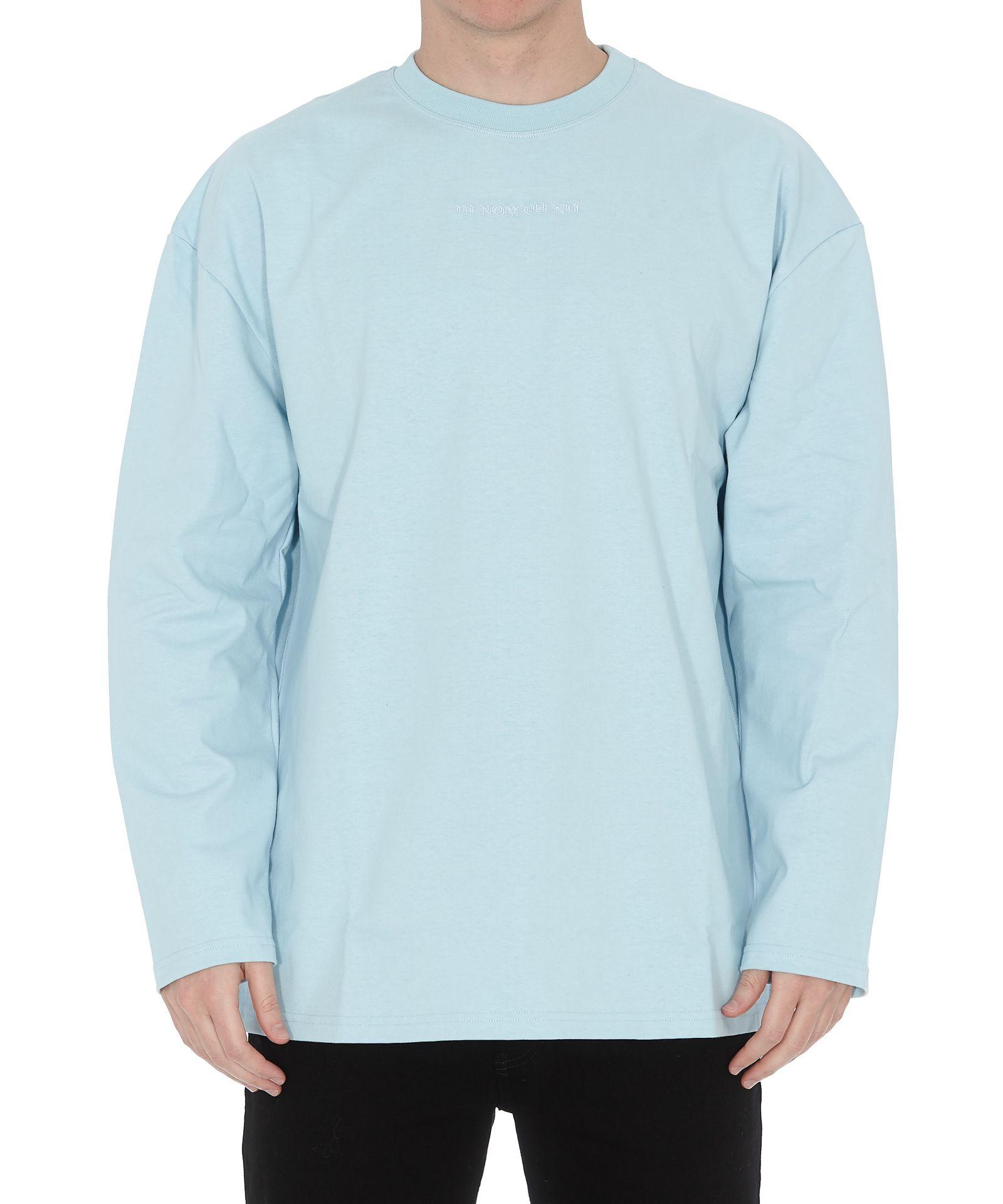 Ih Nom Uh Nit Quote On Back Print Sweatshirt