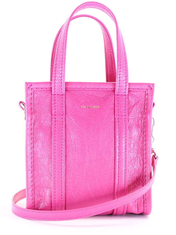Balenciaga Shopper Bazar Xxs Pink