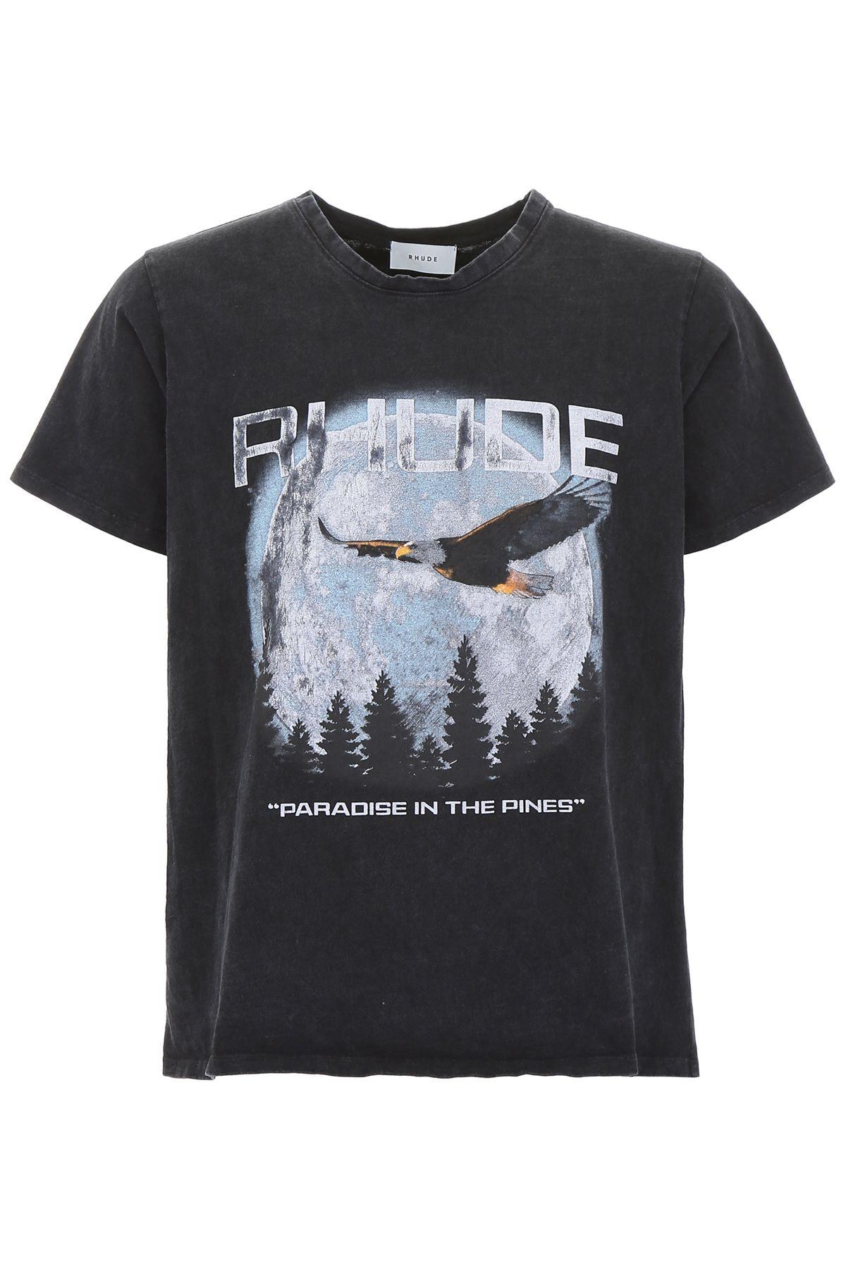 Rhude T-shirts PRINTED T-SHIRT