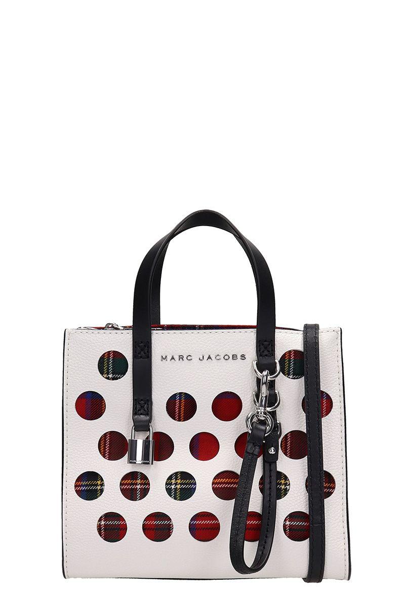 Marc Jacobs Perforated Tartan Mini Grind Bag