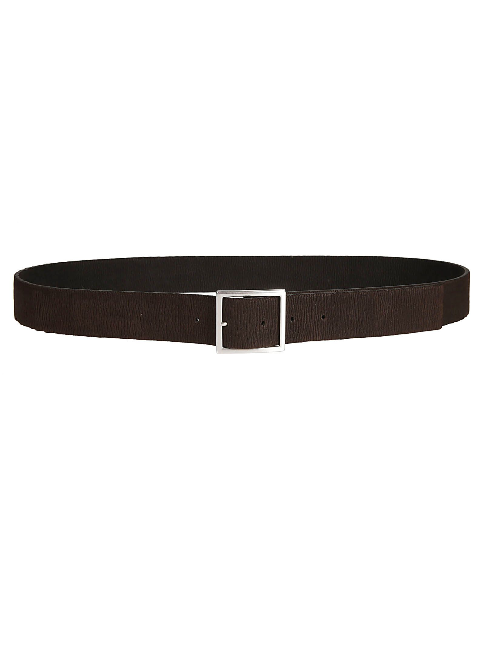 Orciani Squared Buckle Belt