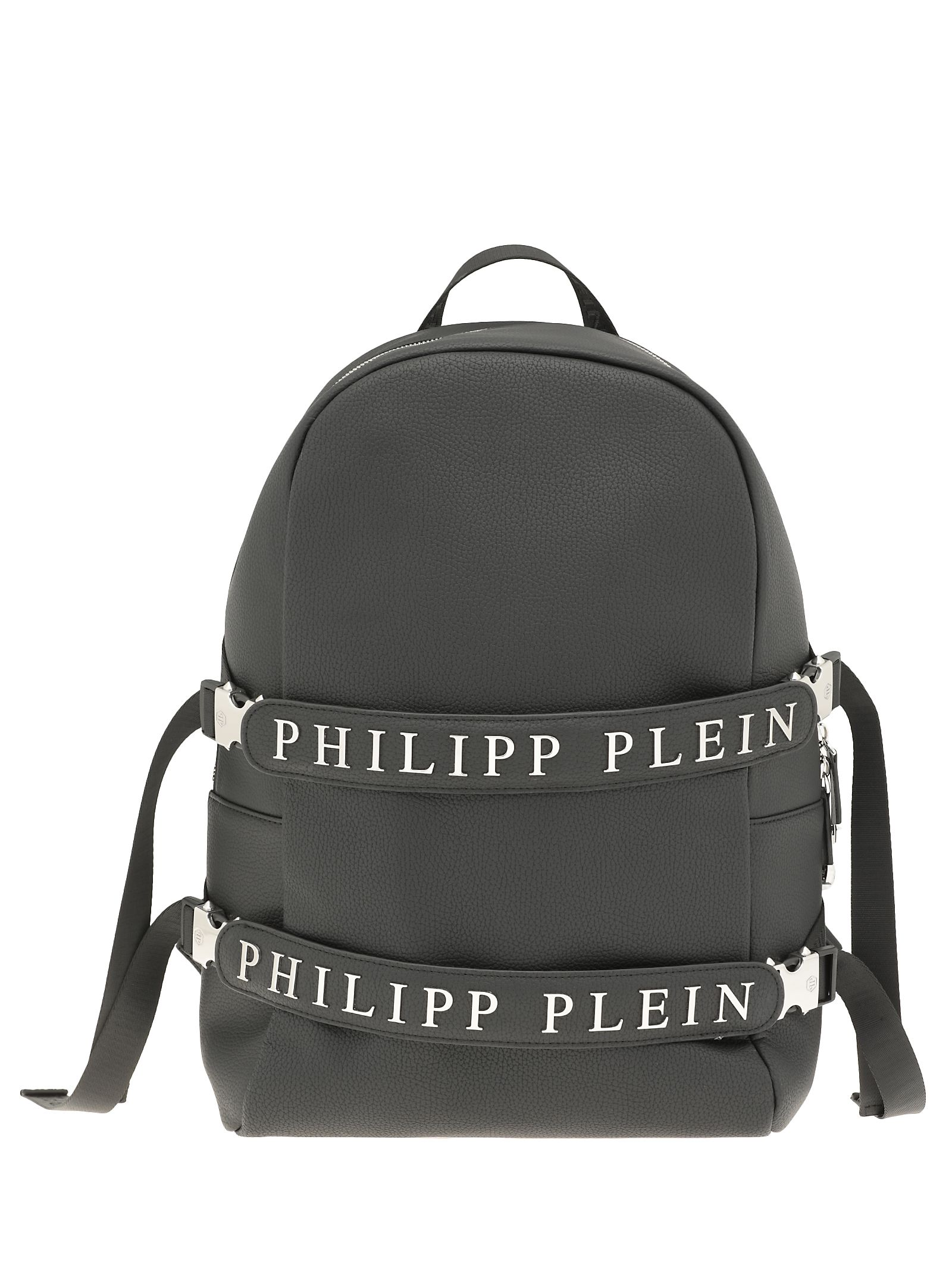 Philipp Plein Faux Leather Backpack