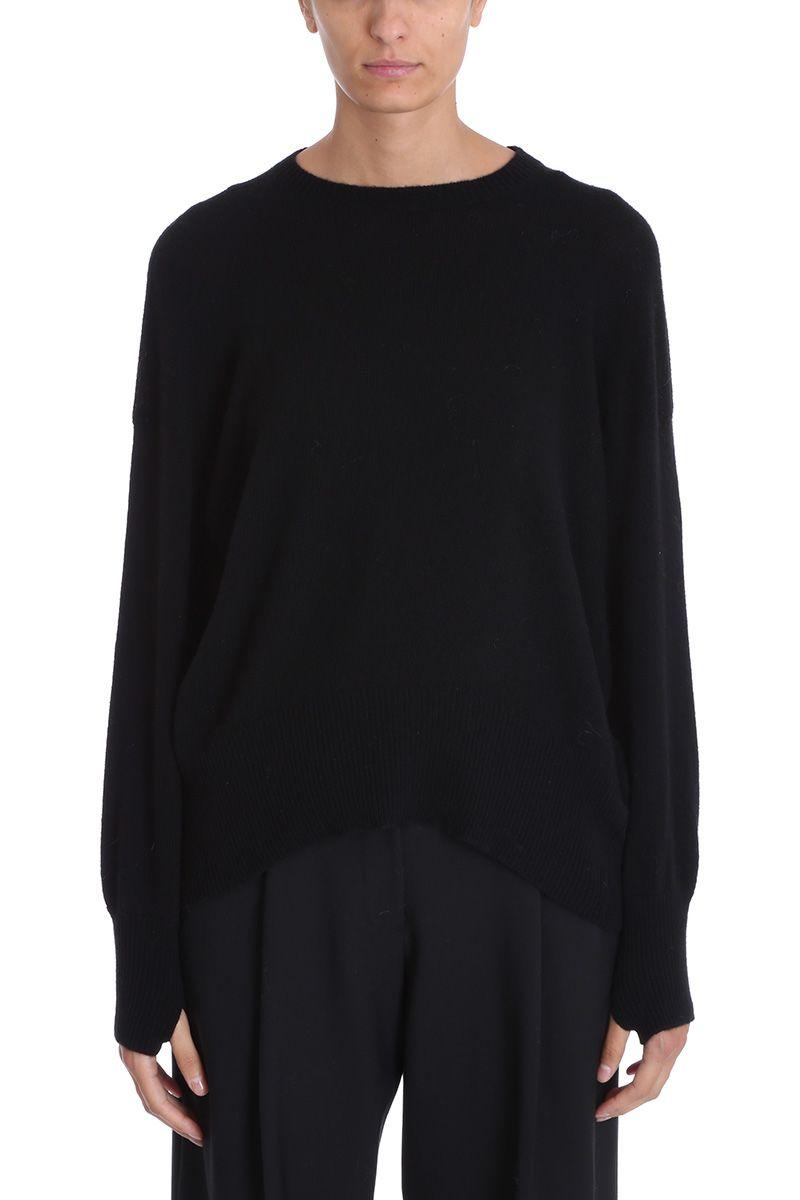 Maison Flaneur Black Cashmere Sweater