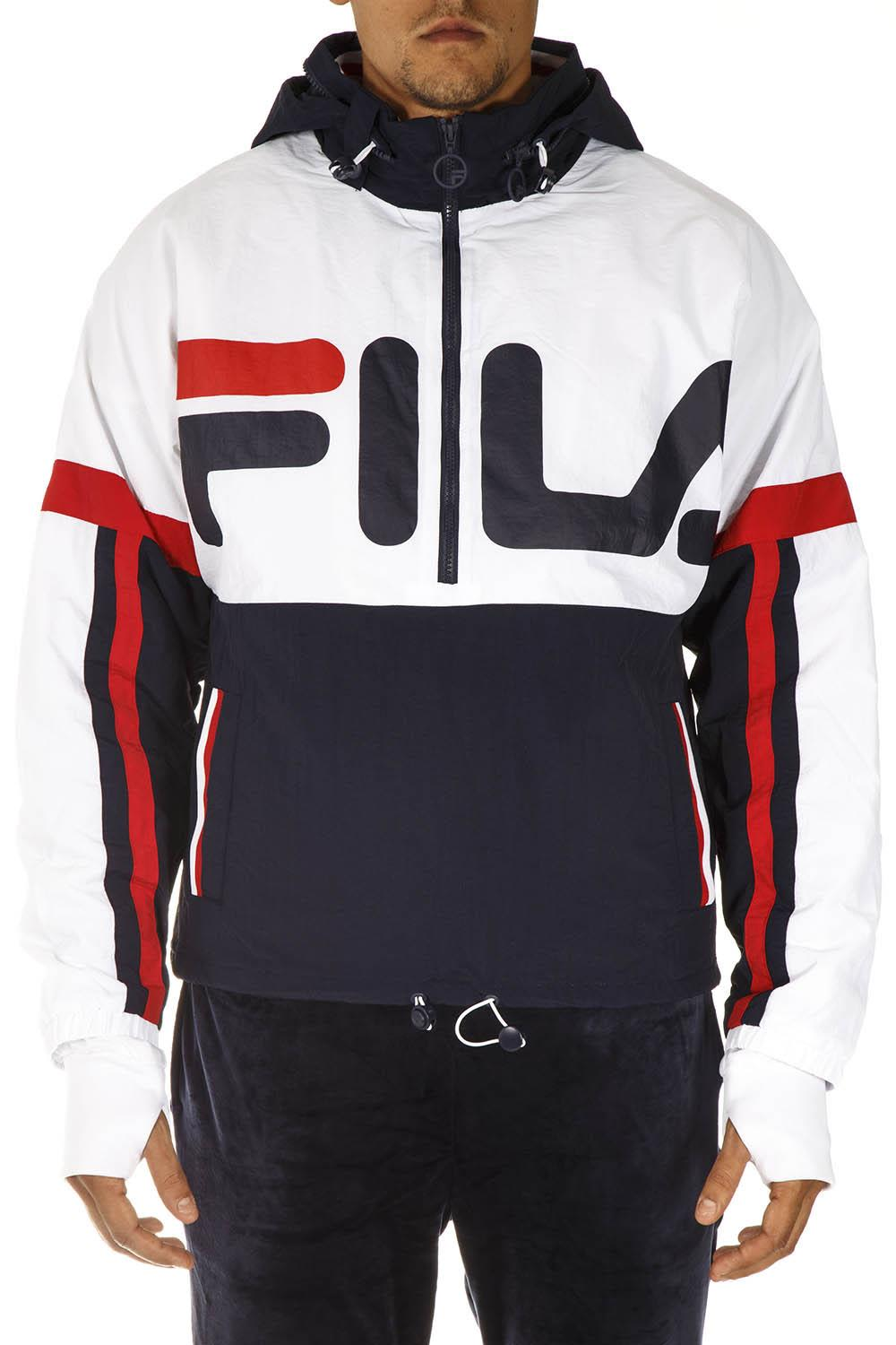 Fila Multicolor Jacket With Maxi Logo Print