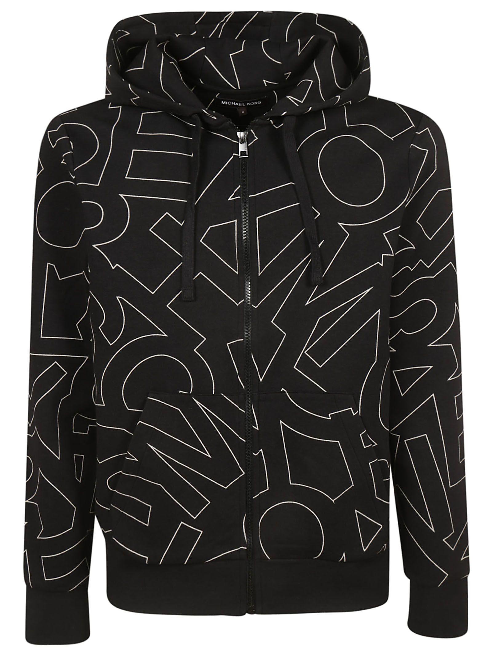 Michael Kors Graphic Logo Print Hoodie