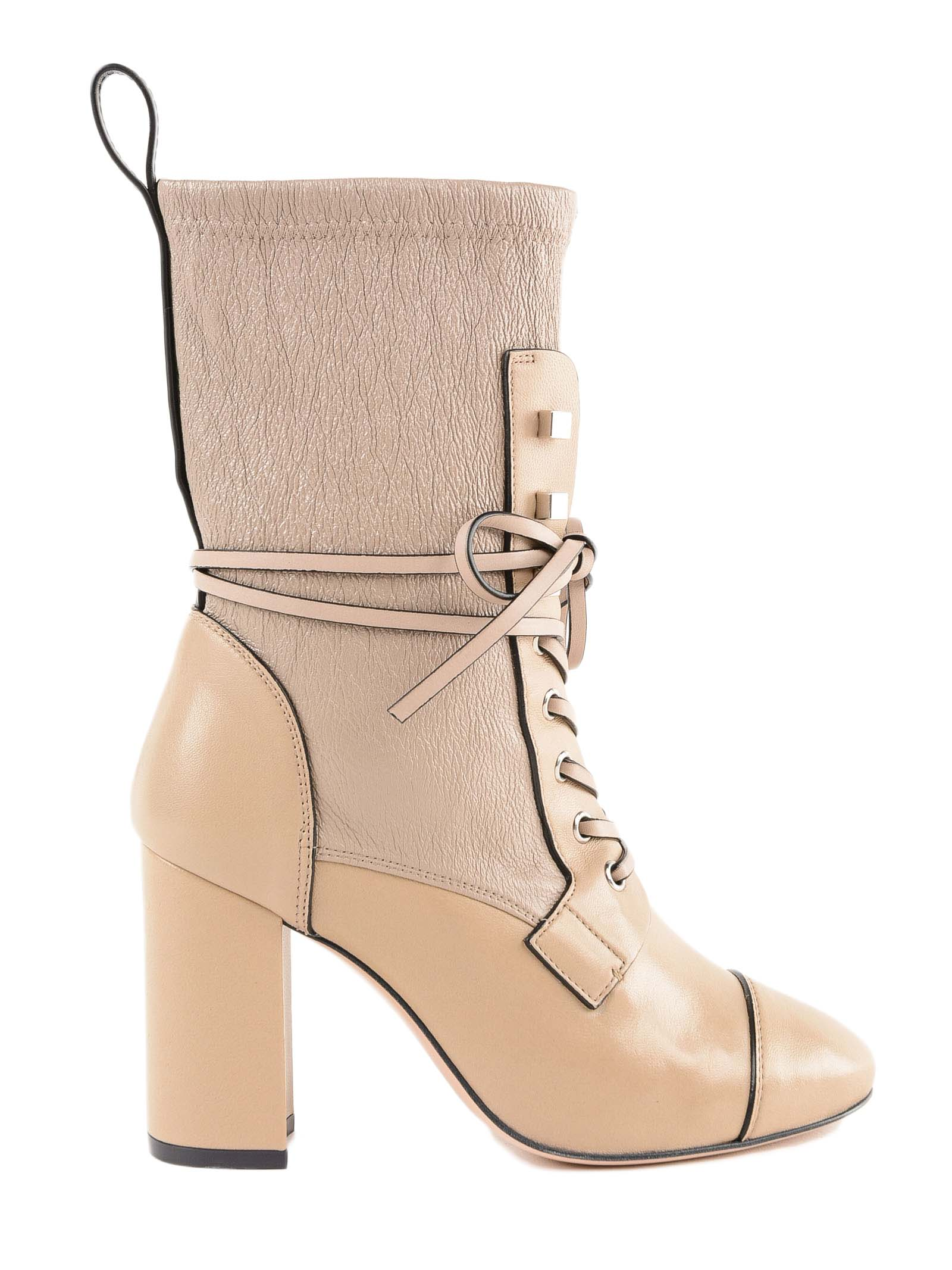 Stuart Weitzman Gleaming Tripon Lace-up Boots