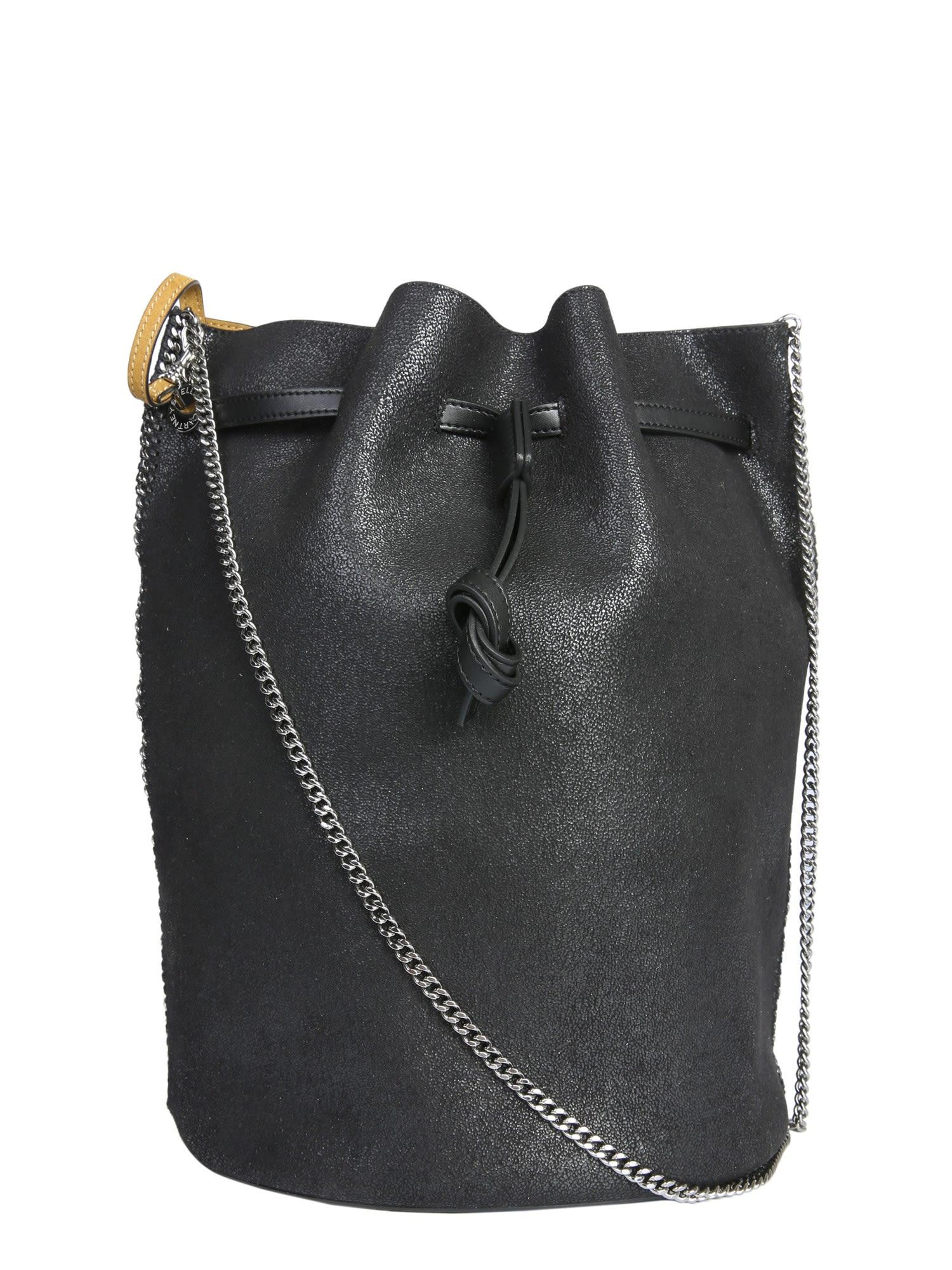 Stella McCartney Medium Belted Bucket Bag