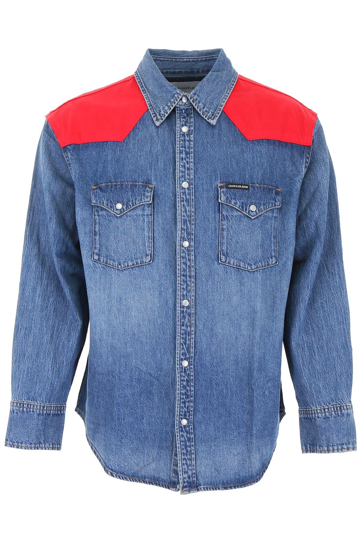 Calvin Klein Jeans T-shirts DENIM WESTERN SHIRT