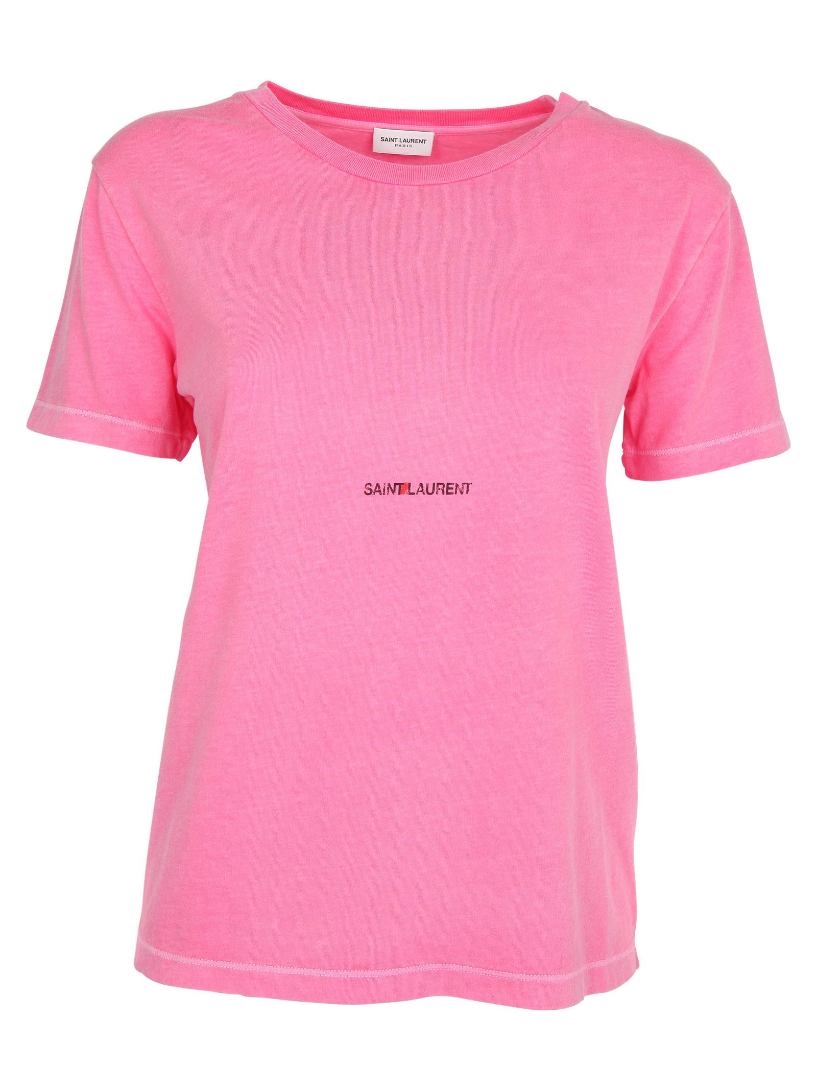 Saint Laurent Paris Logo Printed T-shirt