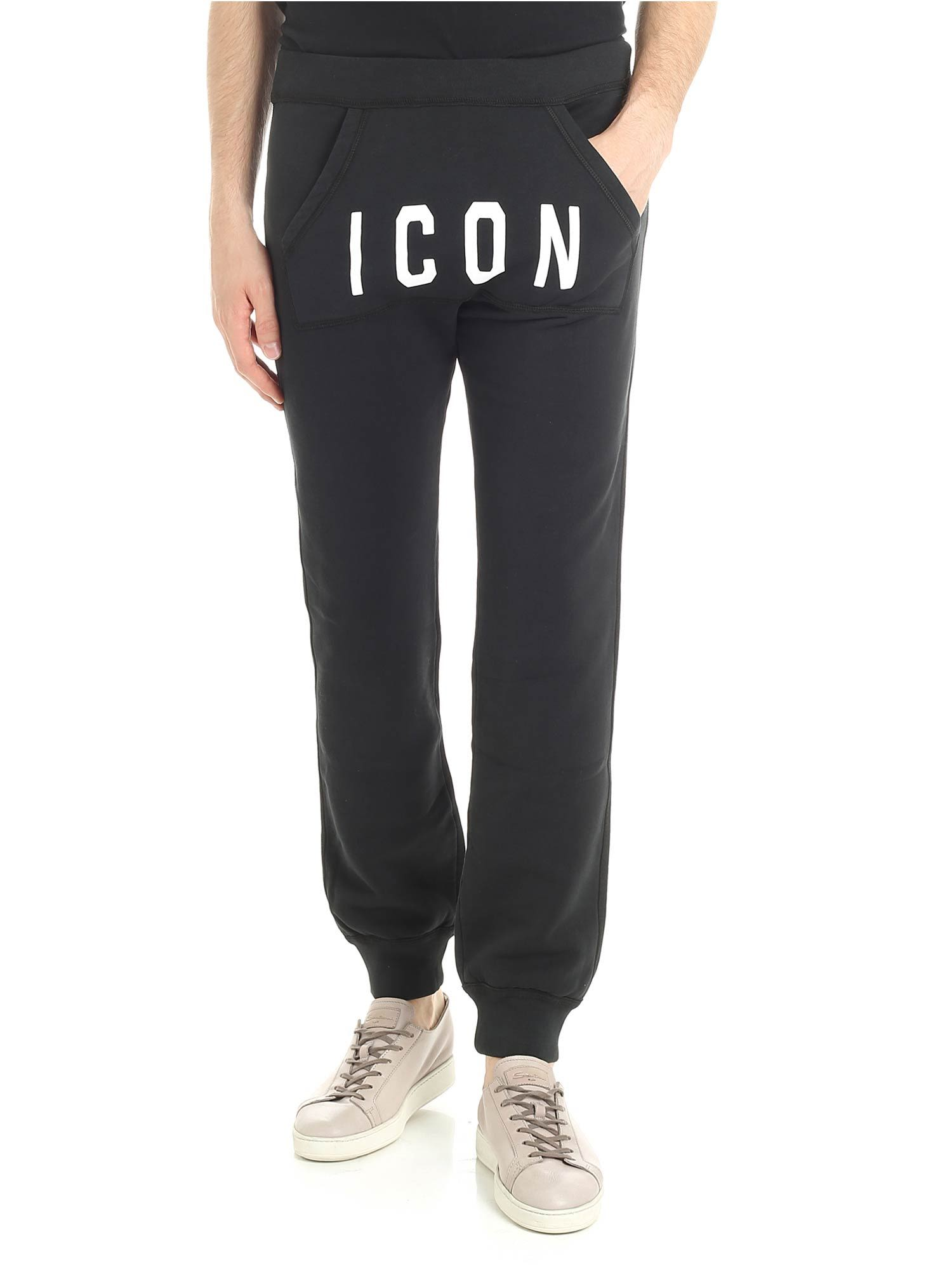 Dsquared2 Icon Print Jogging Pants