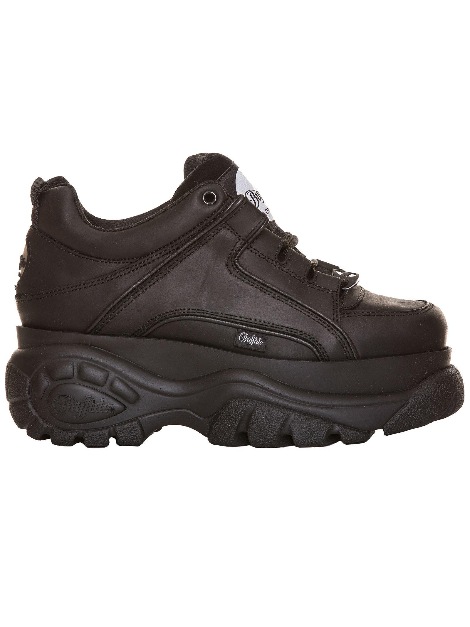 buffalo -  Classic Sneakers In Black