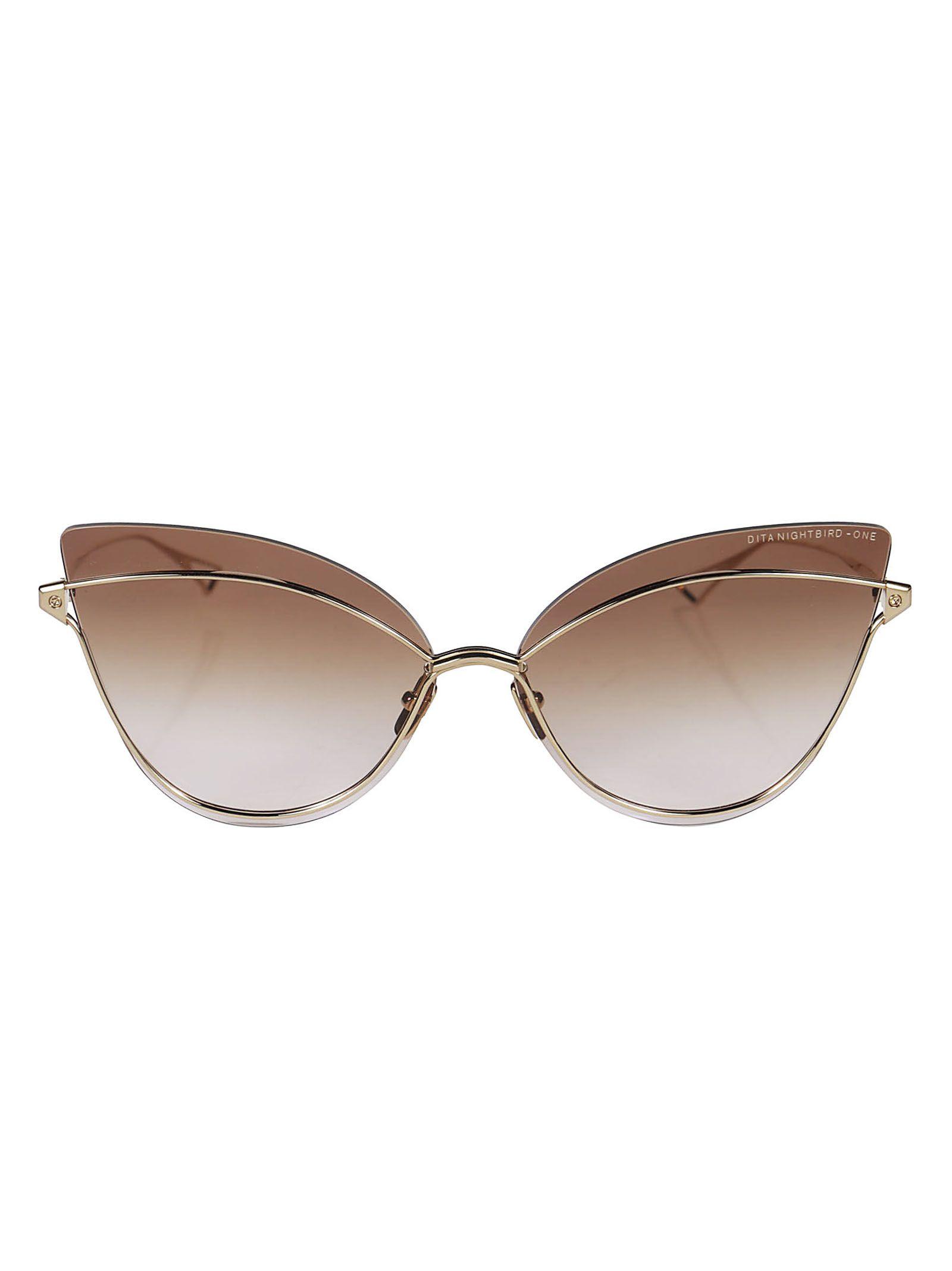 Dita Nightbird One Cat Eye Sunglasses