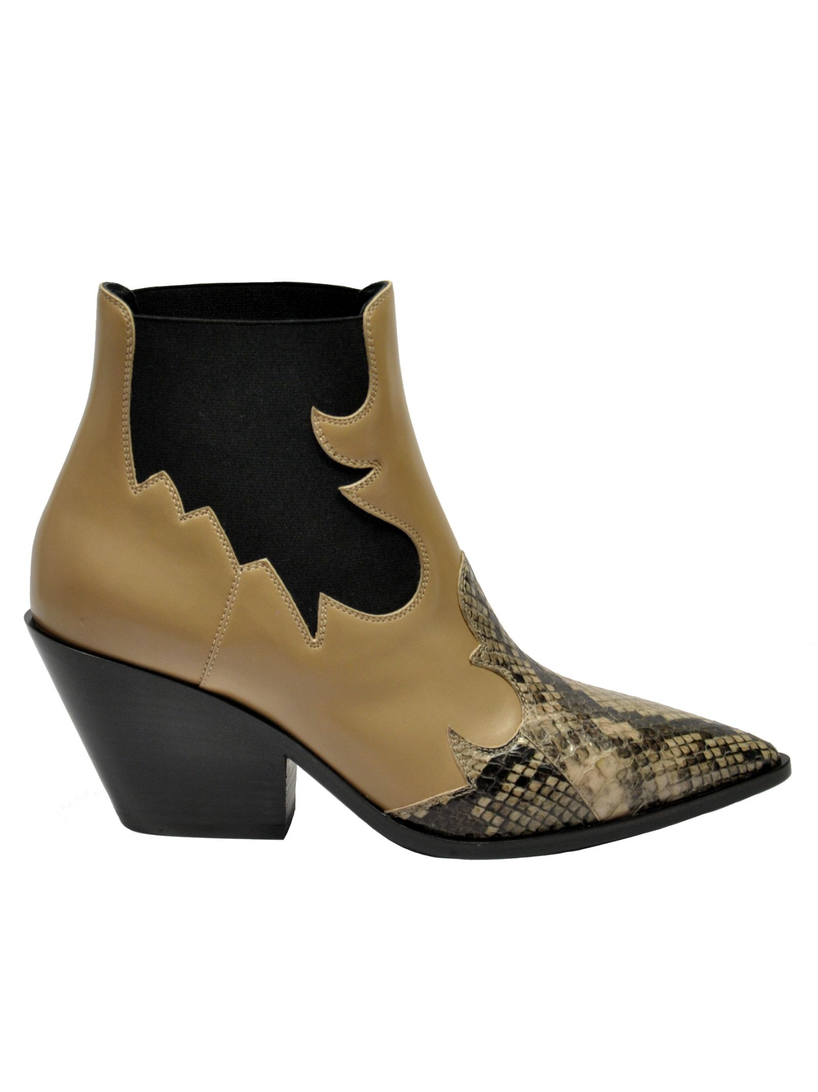 Casadei Pointed Ankle Boots