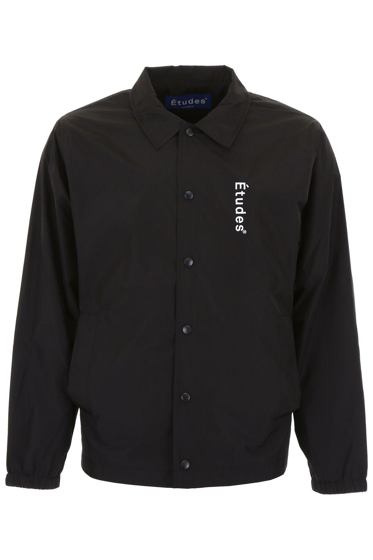 Études Nylon Logo Jacket