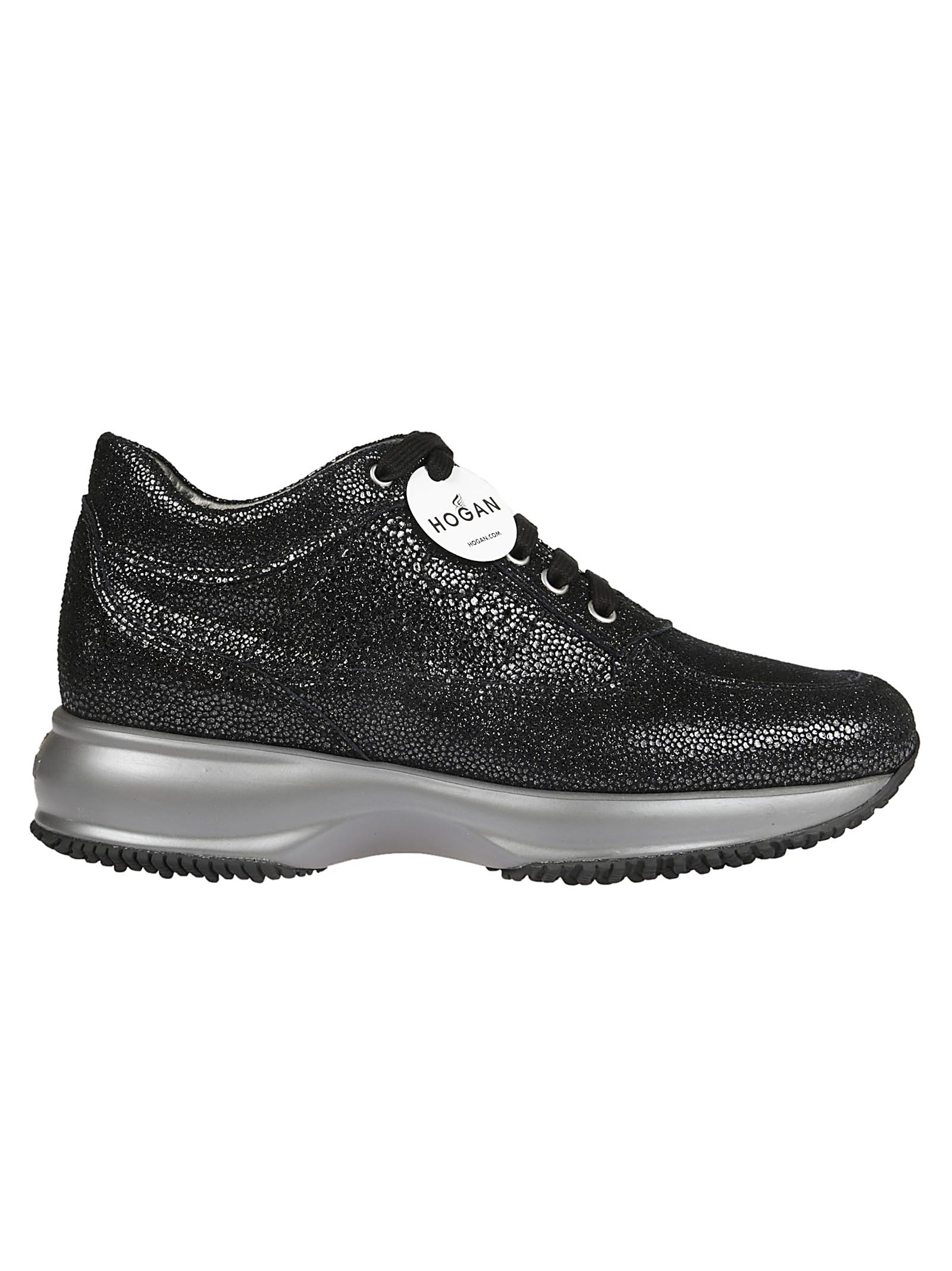 Hogan Metallic Effect Sneakers
