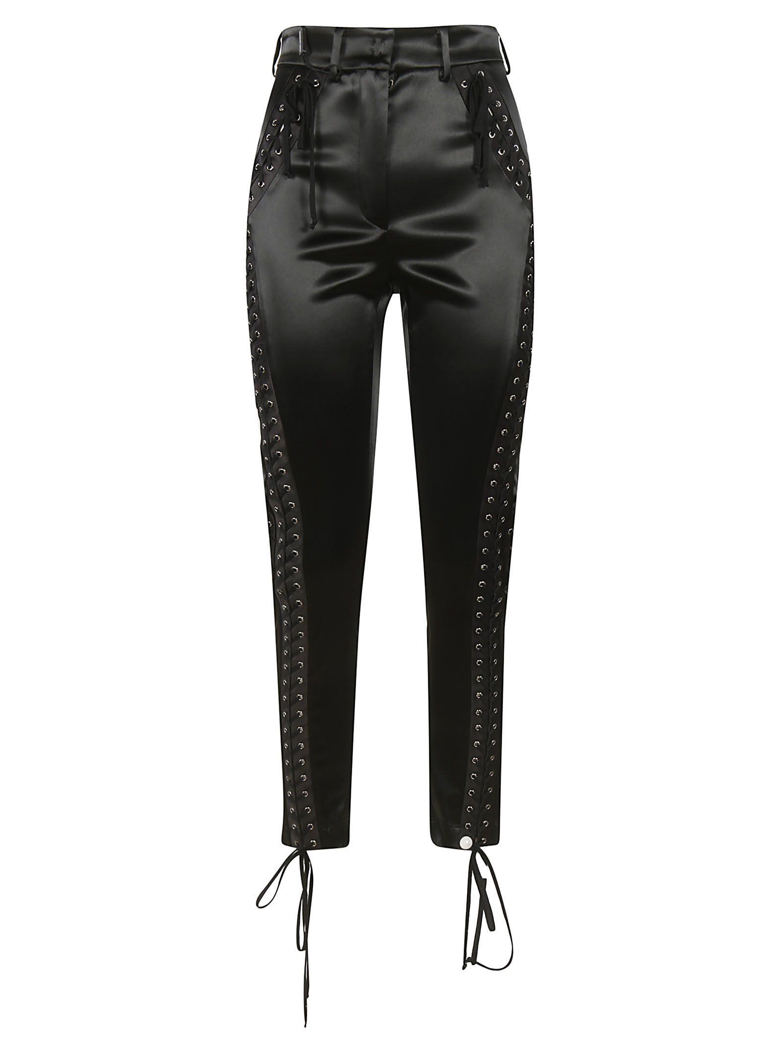 Dolce & Gabbana Lace-up Detail Trousers