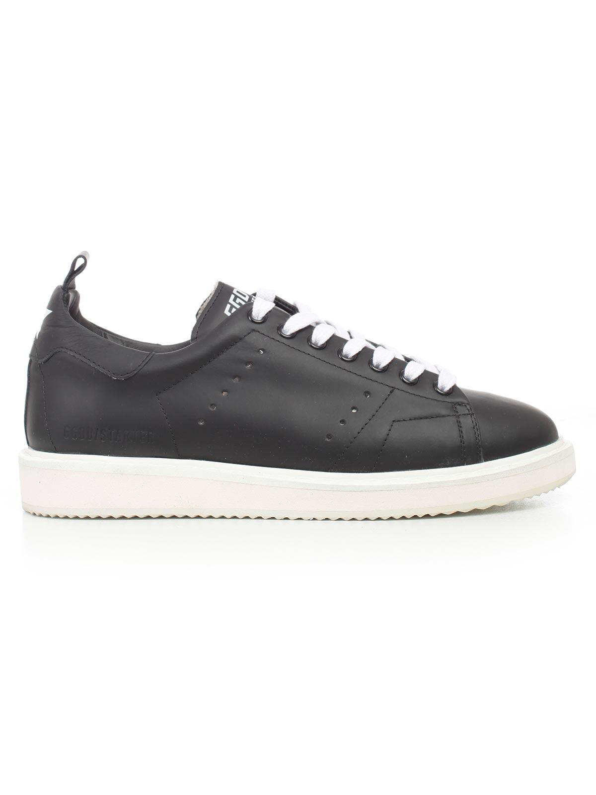 Sneakers Starter in Black White Sole