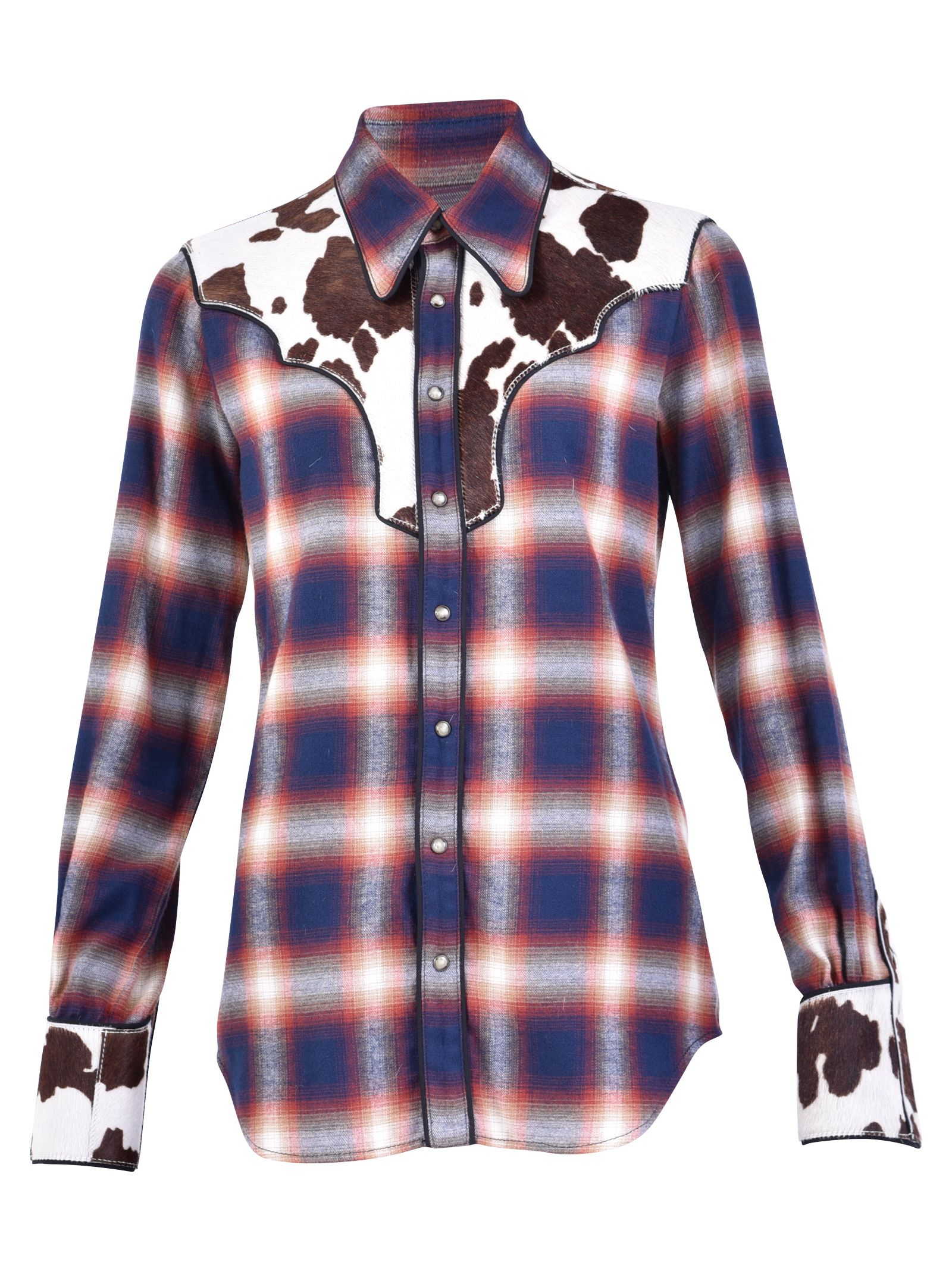 Dsquared2 Multicolored Checked Shirt