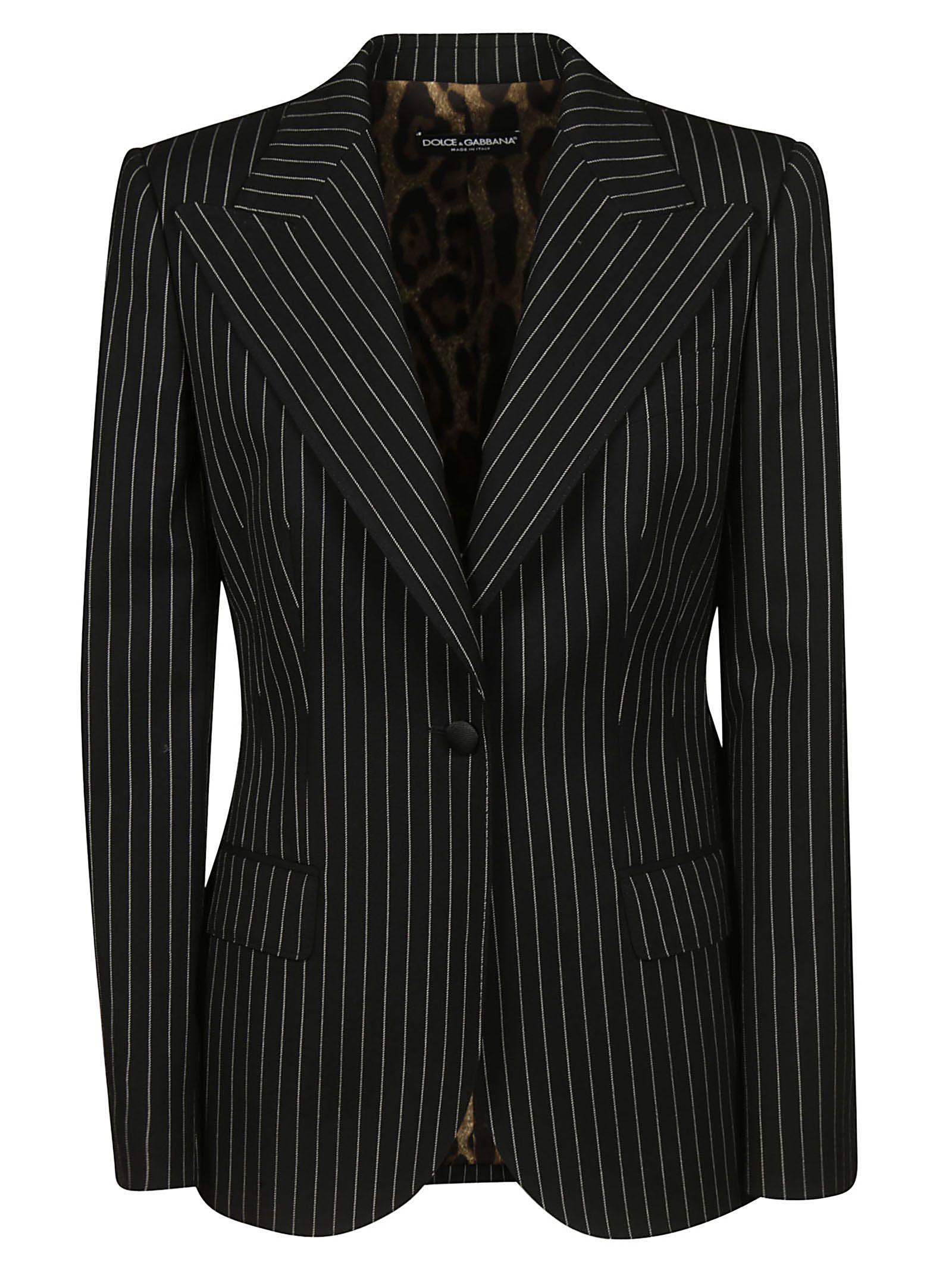 Dolce & Gabbana Striped Blazer