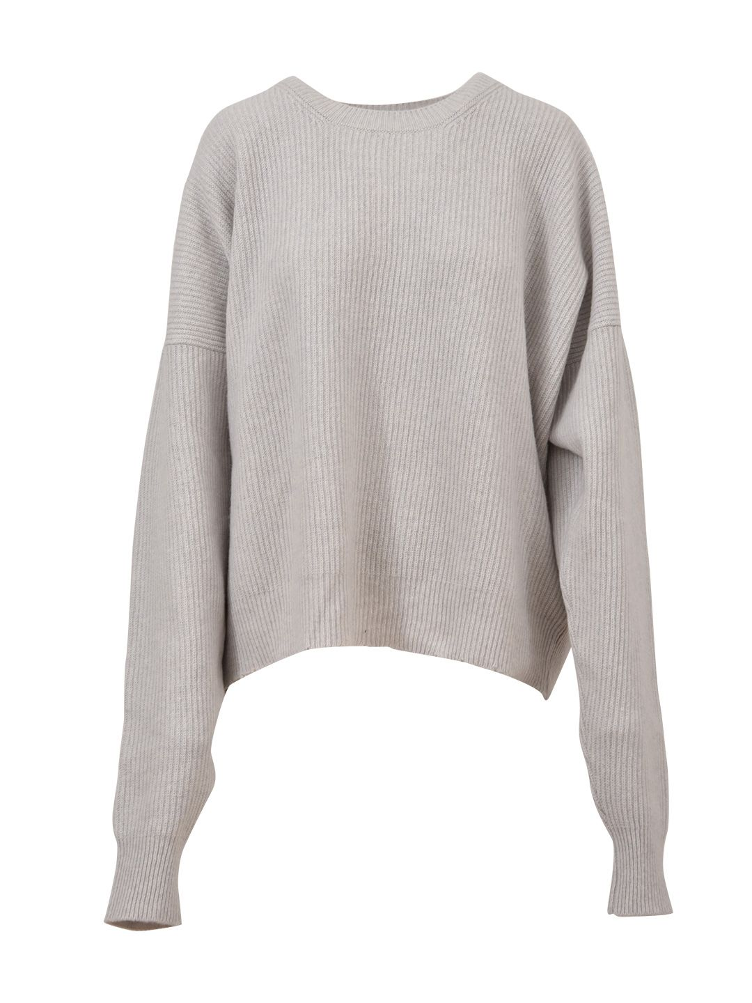 Ben Taverniti Unravel Project Ivory Oversized Sweater