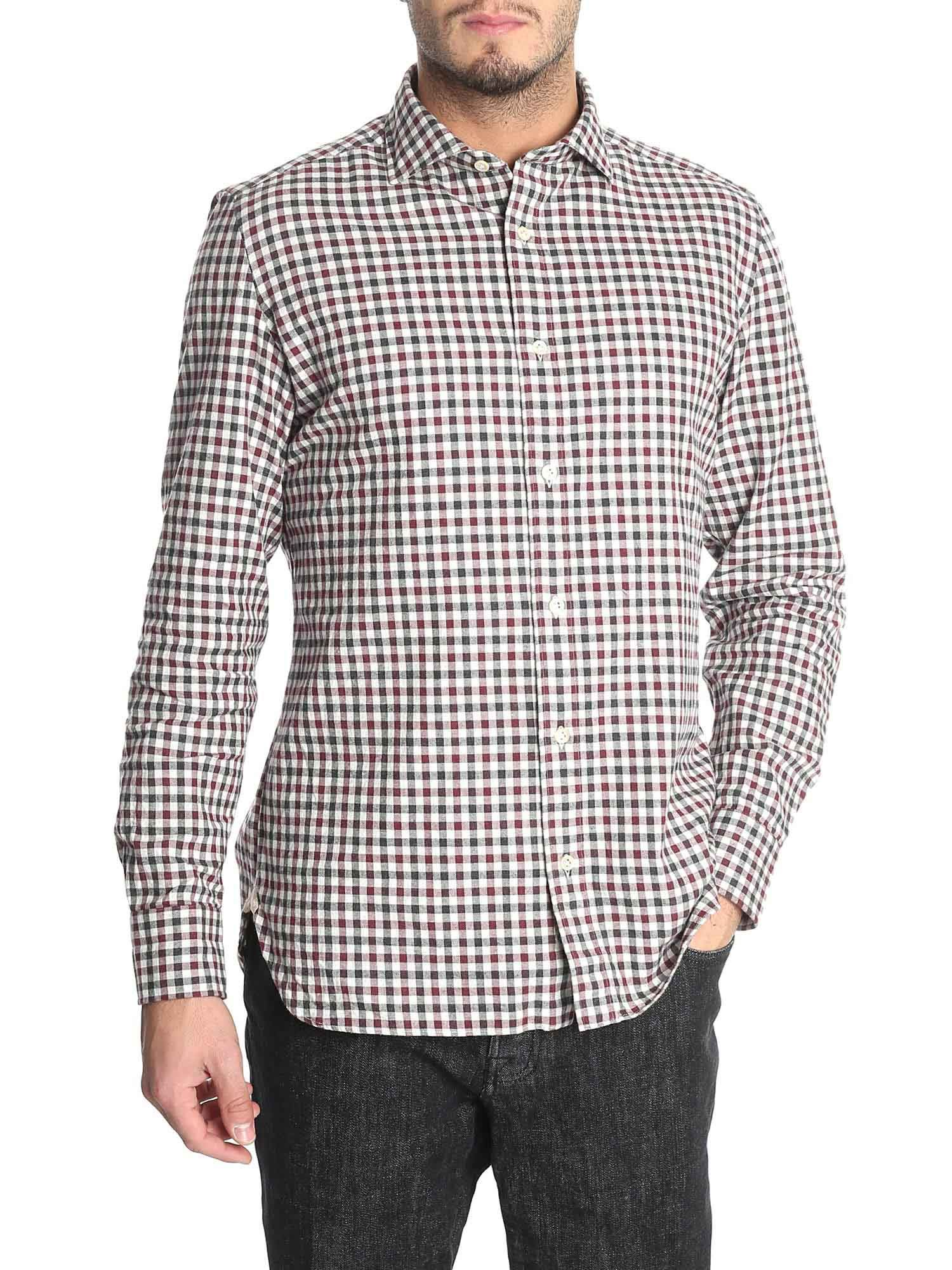 Luigi Borrelli Checked Shirt