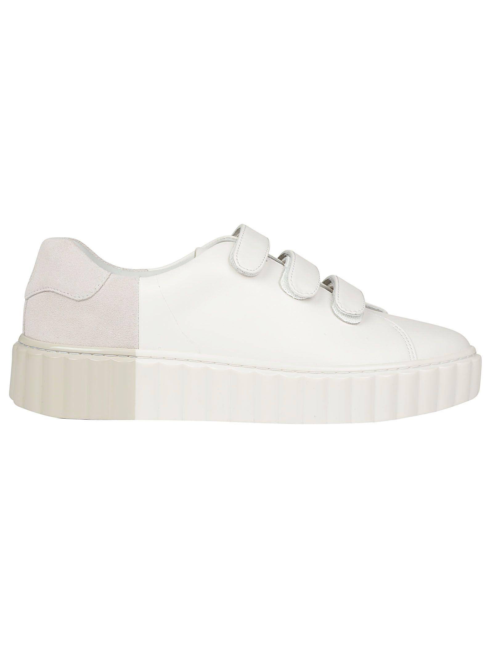 a8b1beb44472 Scallop Triplestrap Sneakers. Ruffle sneakers. Tory Burch. Scallop  Triplestrap Sneakers