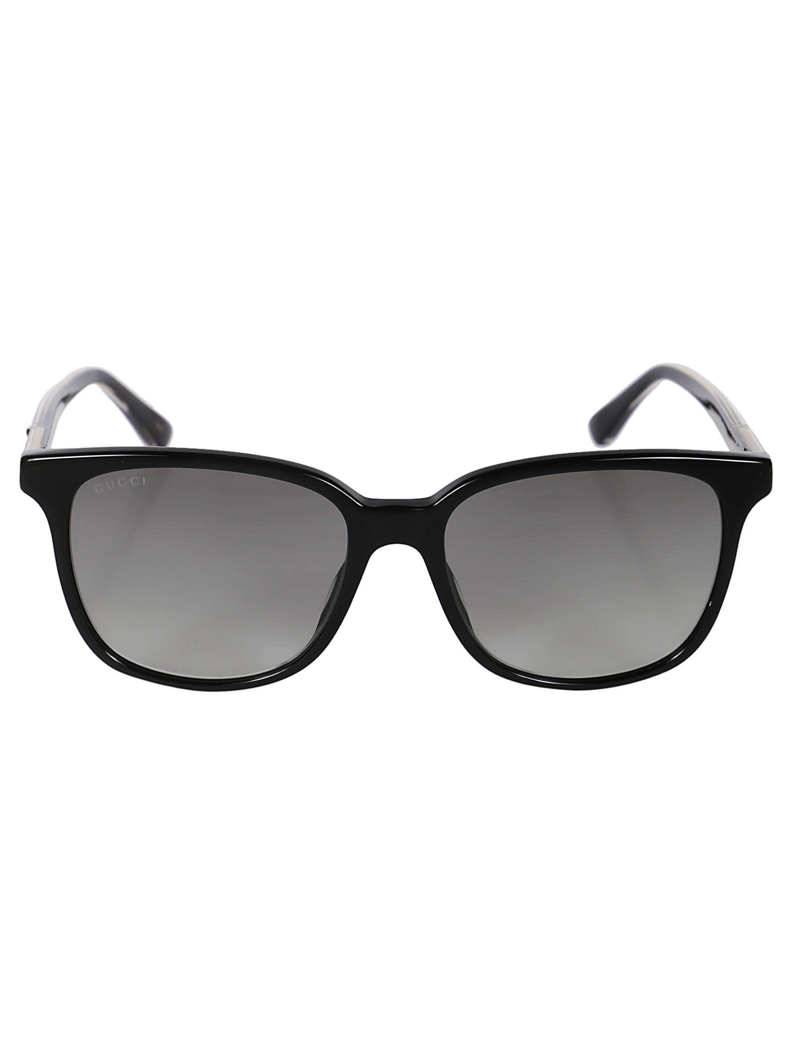 Gucci Square Cat Eye Sunglasses
